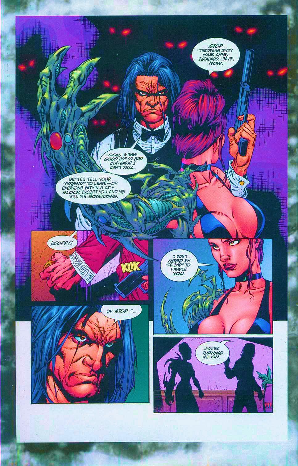 Read online Overkill: Witchblade/Aliens/Darkness/Predator comic -  Issue #1 - 44