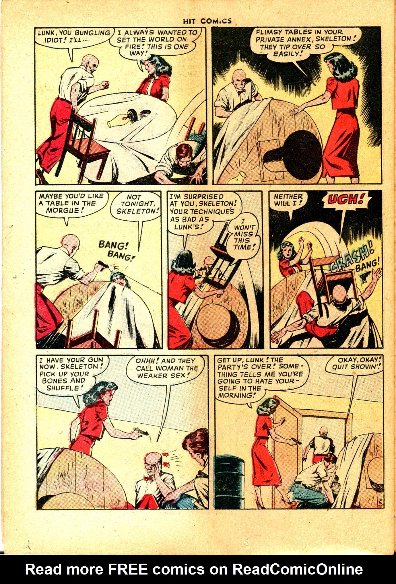 Read online Hit Comics comic -  Issue #57 - 36