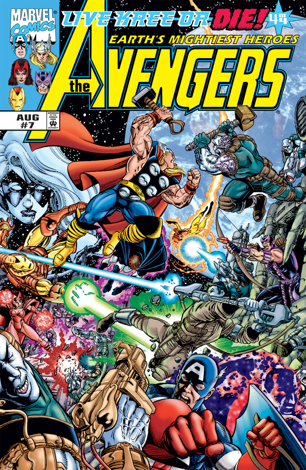 Read online Avengers (1998) comic -  Issue #7 - 1