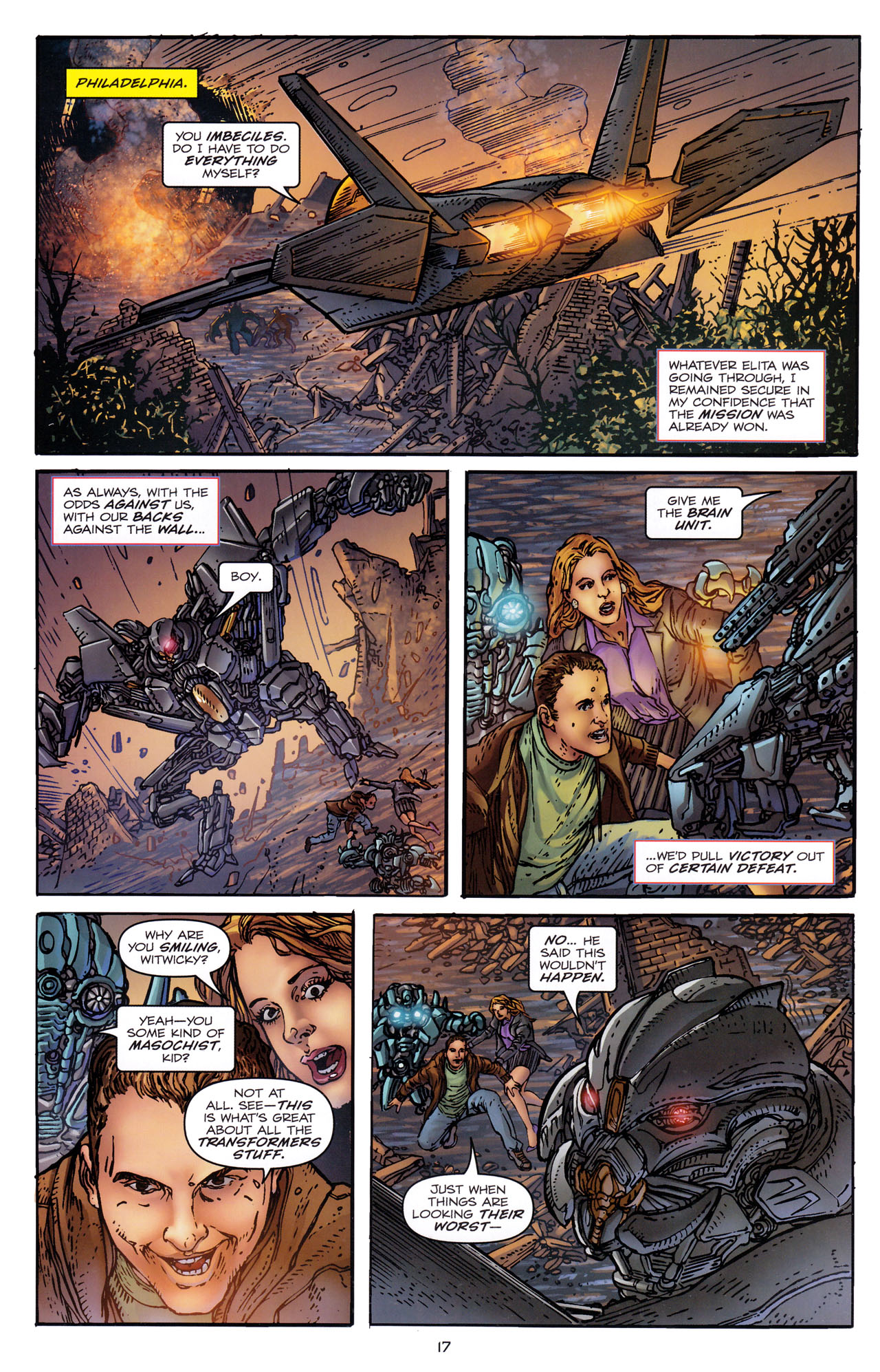 Read online Transformers: Dark of the Moon Rising Storm comic -  Issue #3 - 18