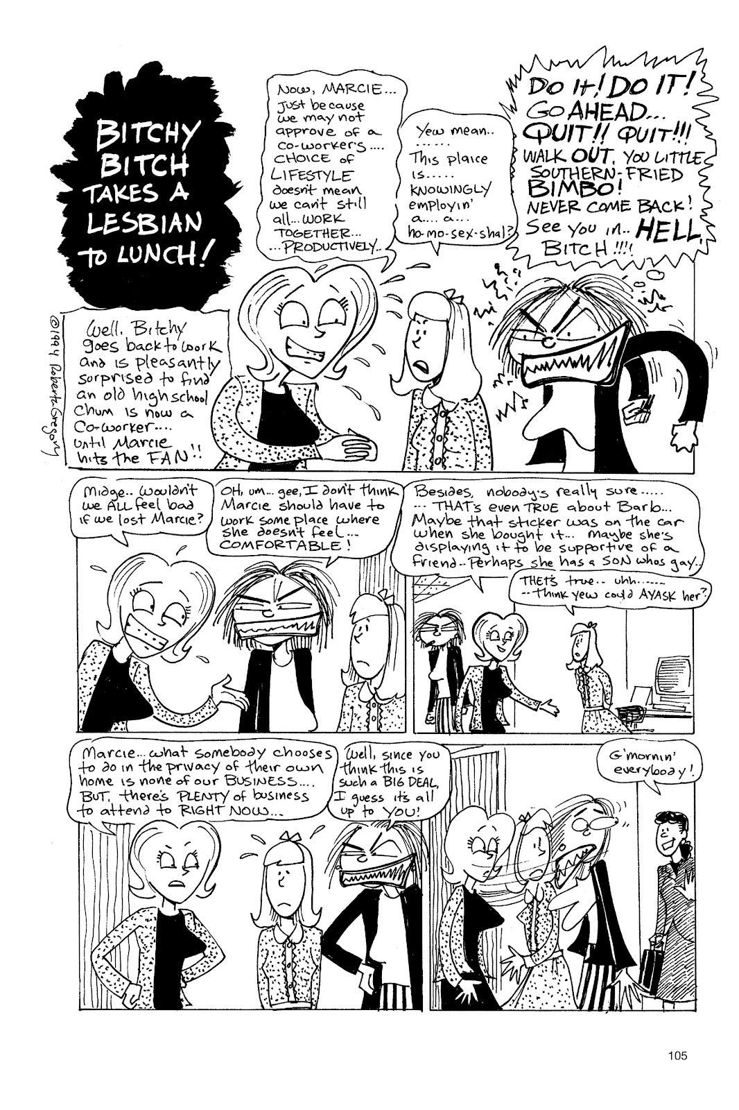 Read online Life's a Bitch: The Complete Bitchy Bitch Stories comic -  Issue # TPB (Part 2) - 3