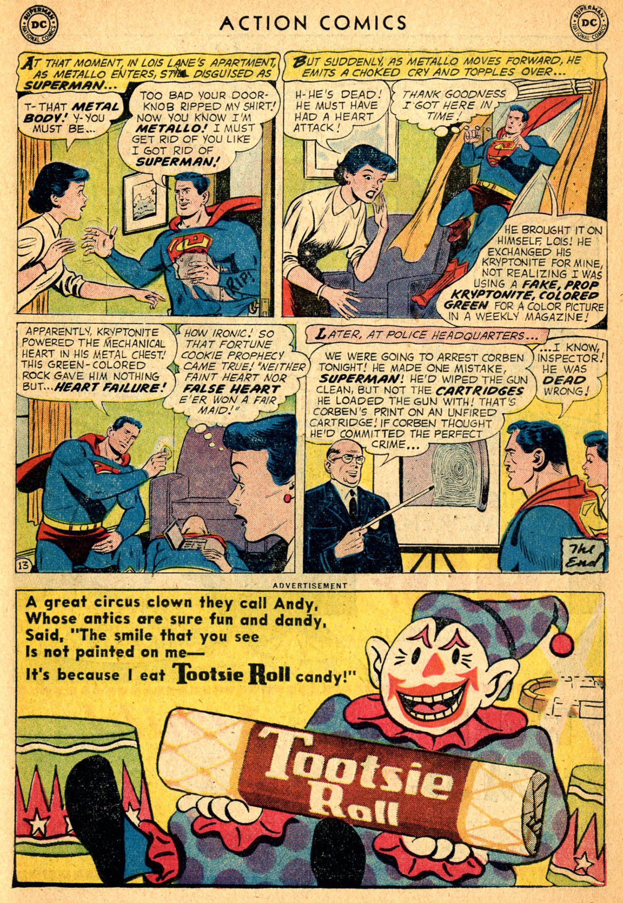 Read online Action Comics (1938) comic -  Issue #252 - 15