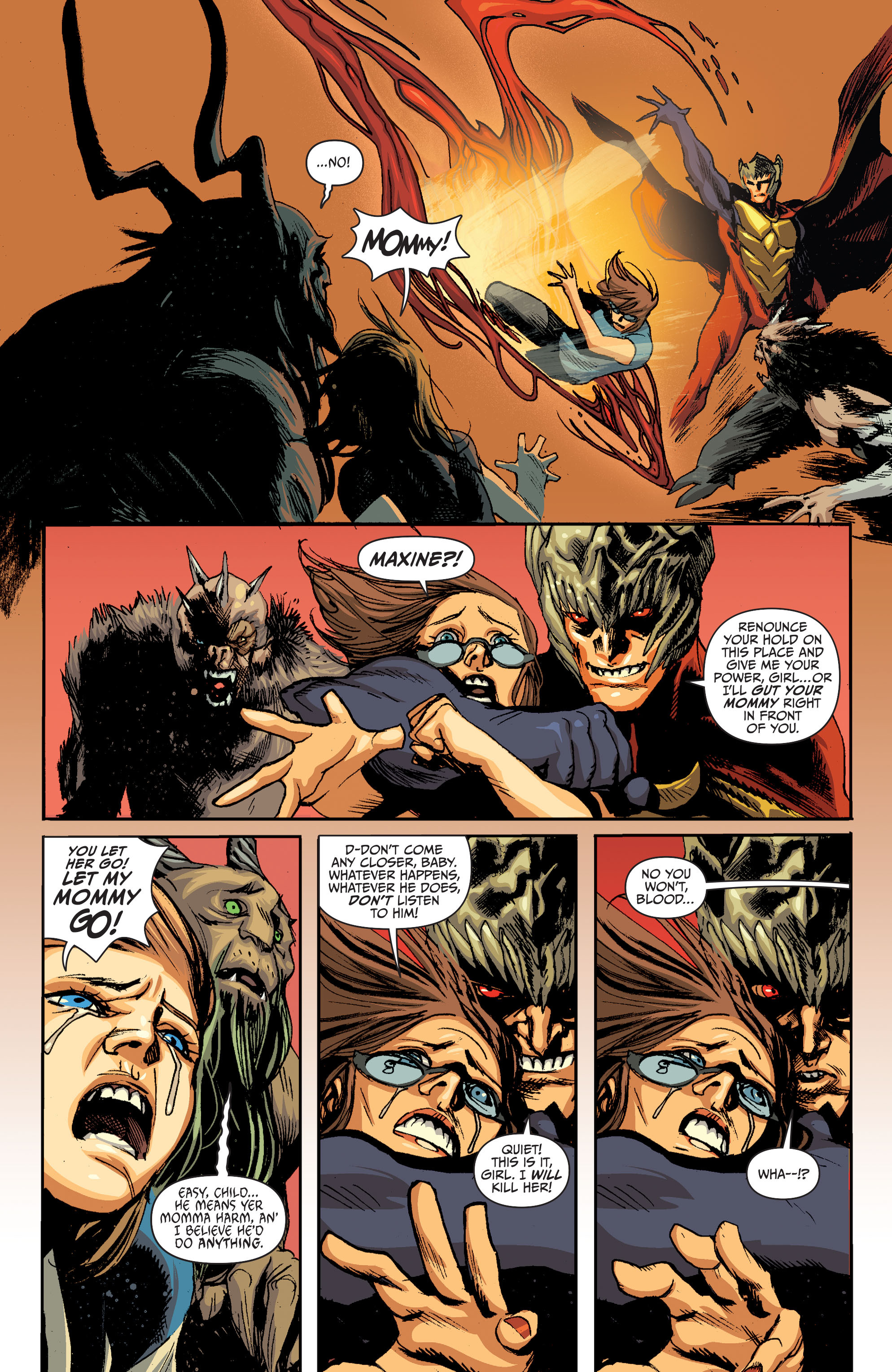 Read online Animal Man (2011) comic -  Issue #28 - 13