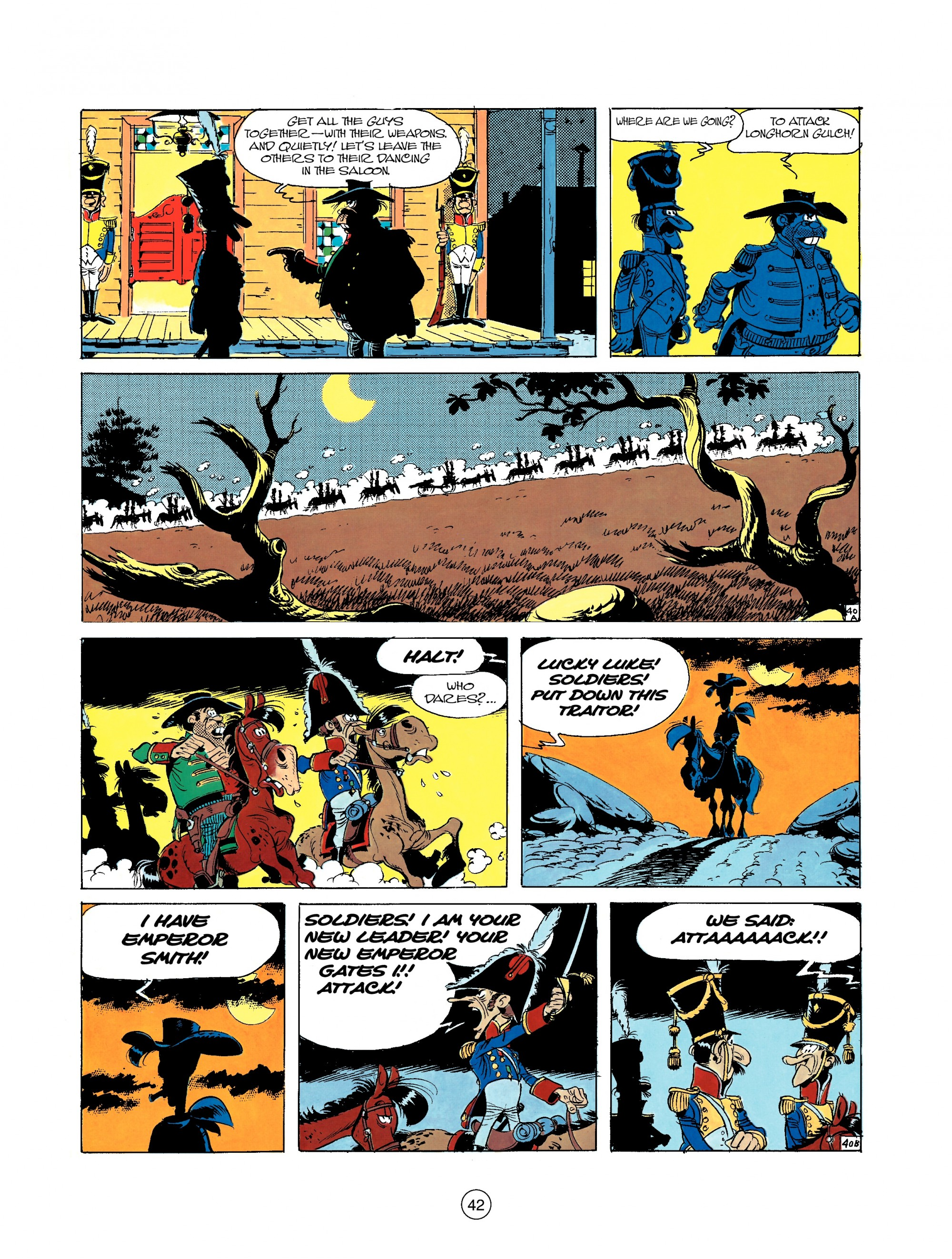 Read online A Lucky Luke Adventure comic -  Issue #22 - 42