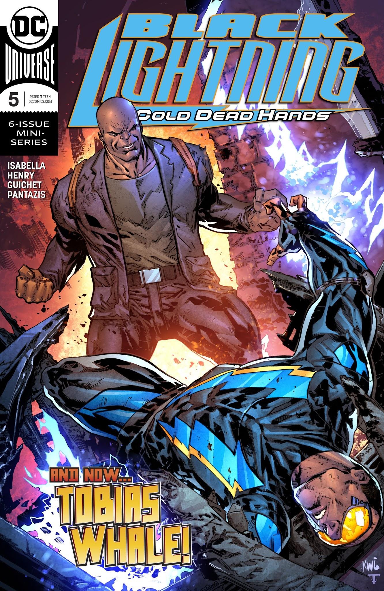 Black Lightning: Cold Dead Hands 5 Page 1