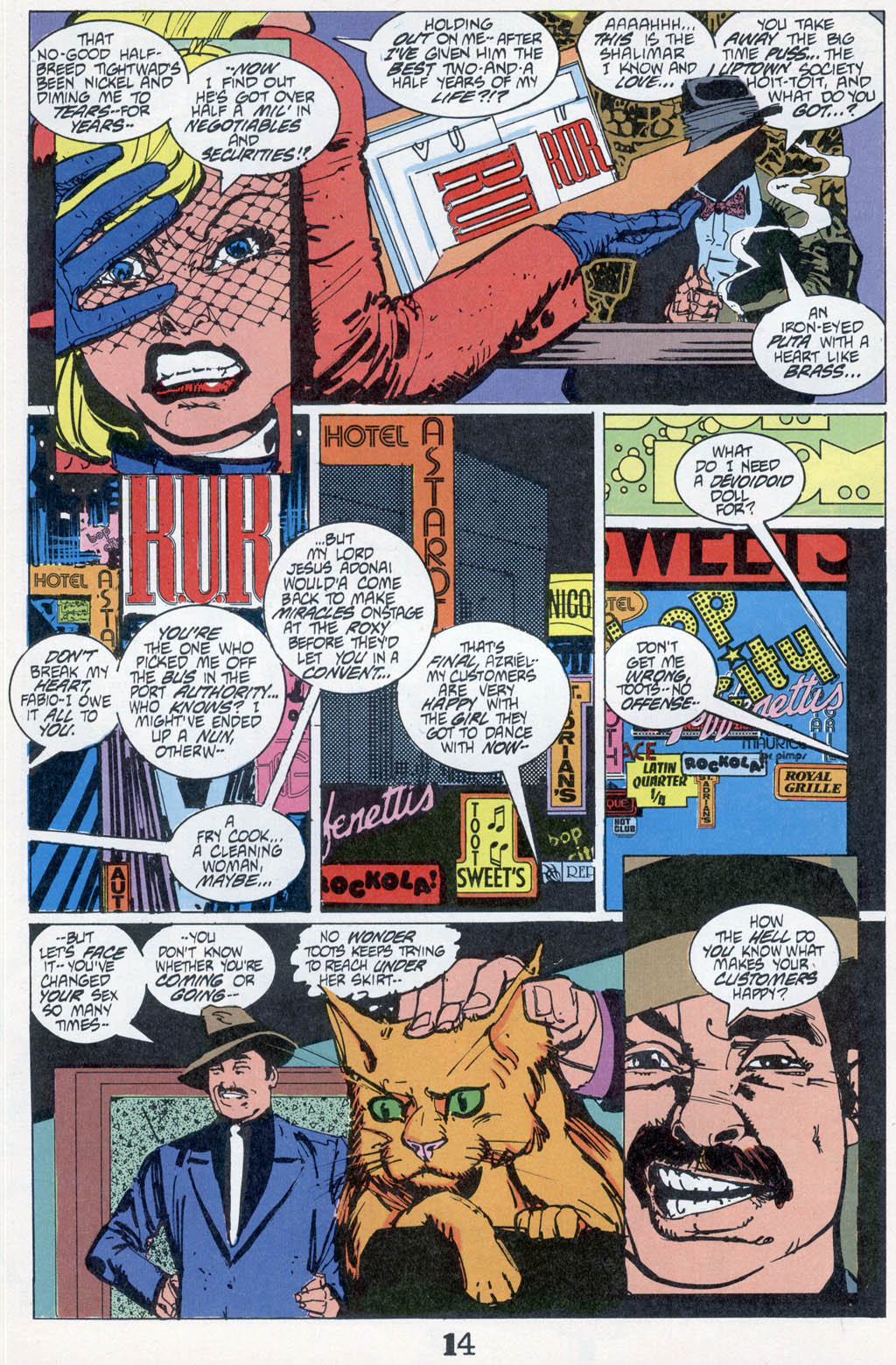 Read online American Flagg! comic -  Issue # _Special 1 - 16