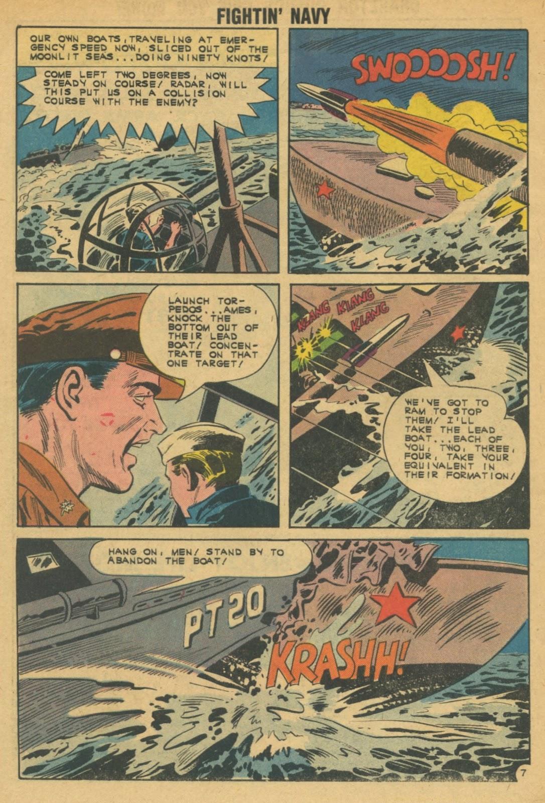 Read online Fightin' Navy comic -  Issue #103 - 32