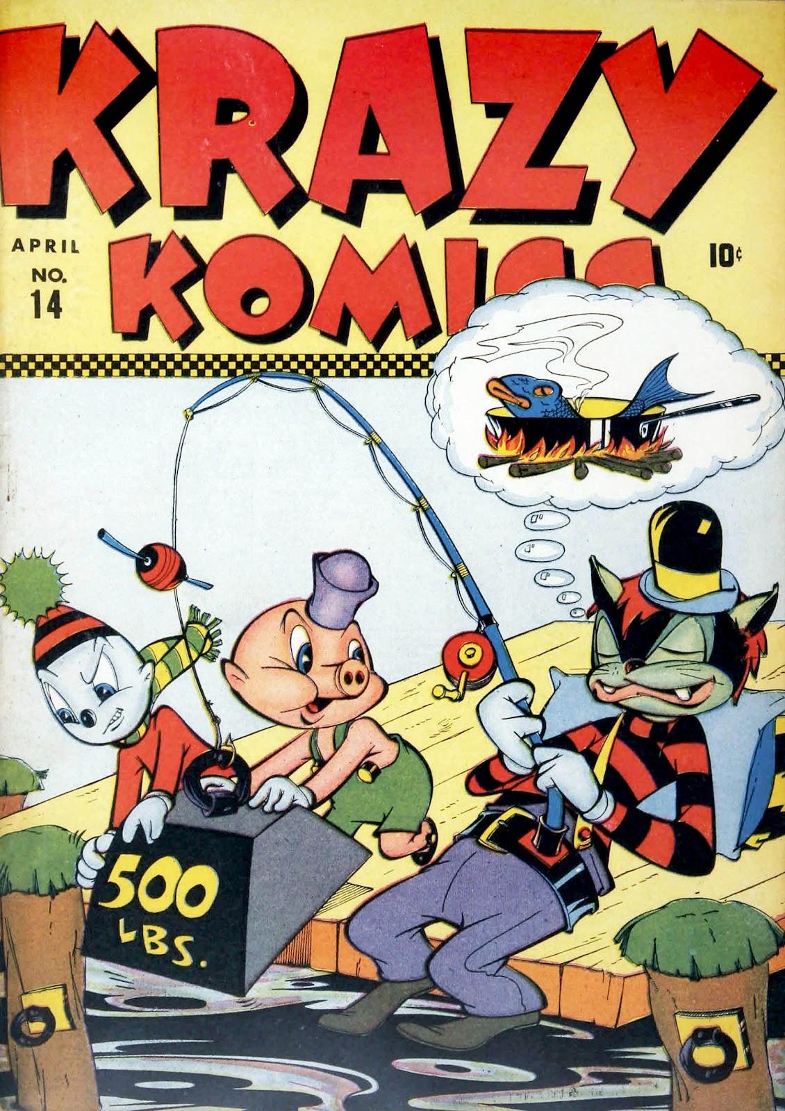 Krazy Komics (1942) issue 14 - Page 1