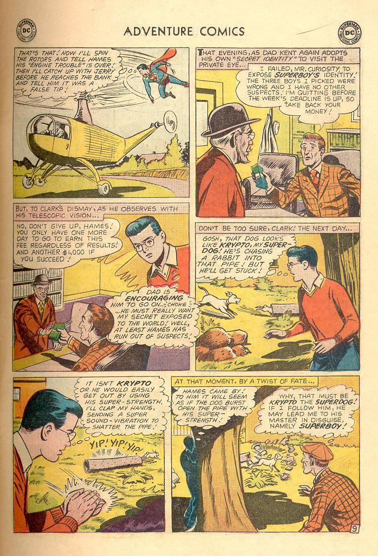 Read online Adventure Comics (1938) comic -  Issue #263 - 11