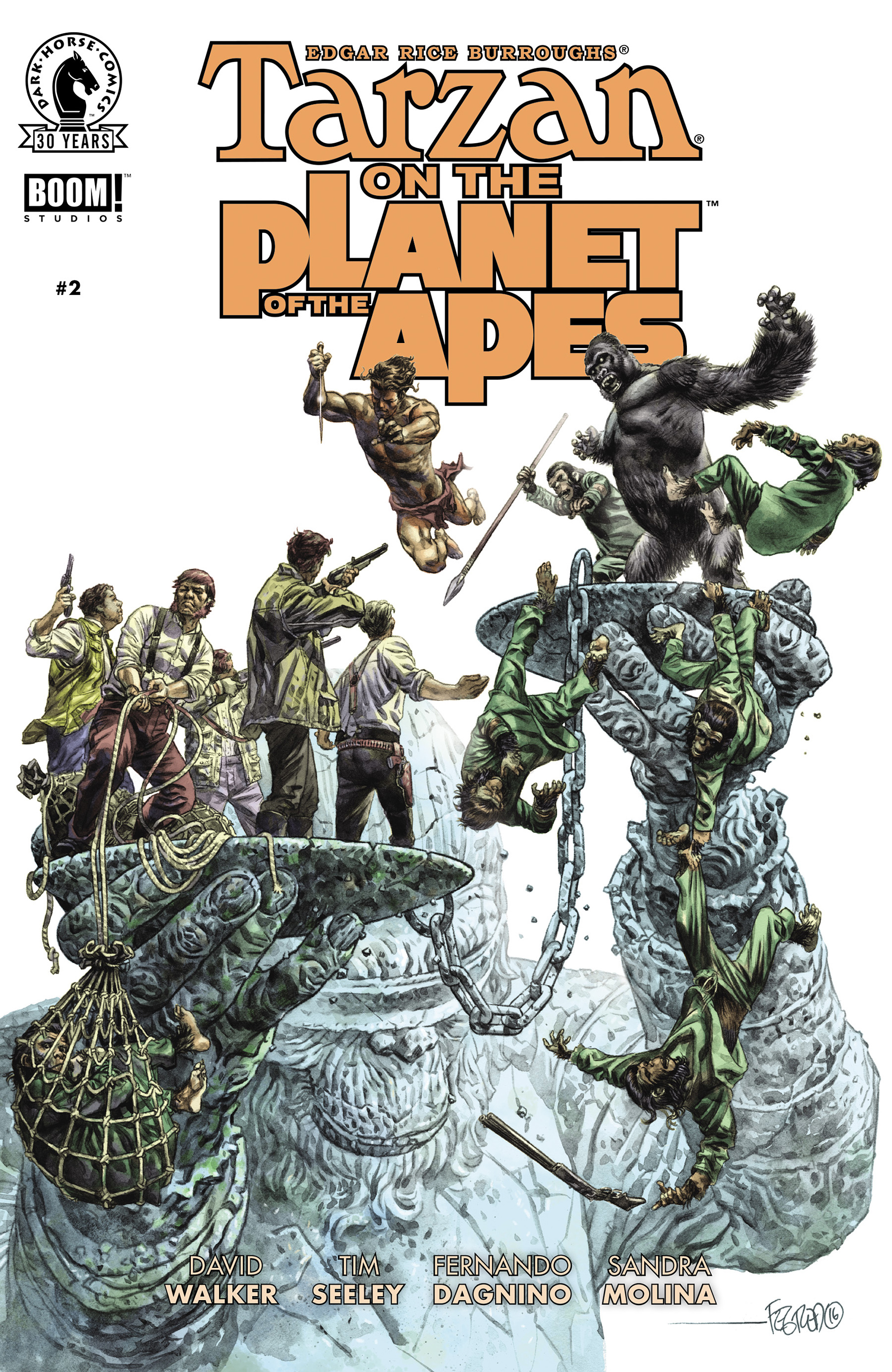 Tarzan On the Planet of the Apes 2 Page 1
