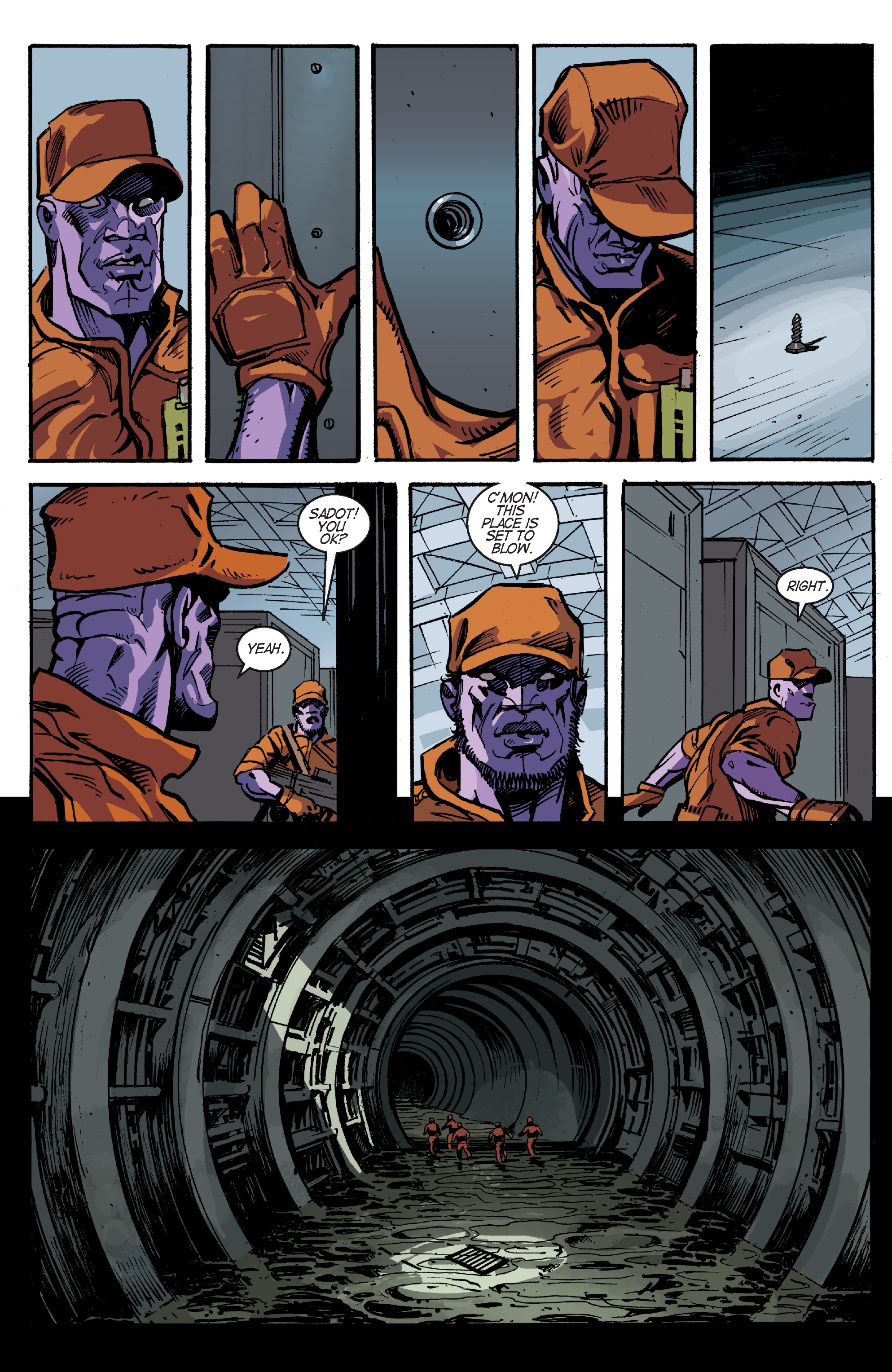 Read online Planetoid Praxis comic -  Issue #5 - 13