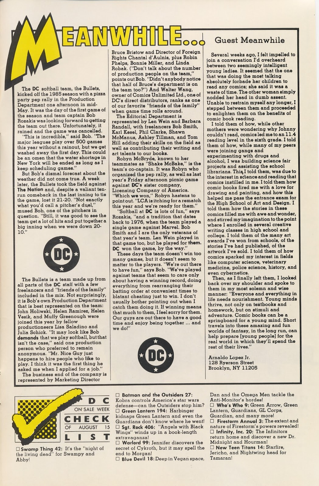 Infinity Inc. (1984) issue 20 - Page 35