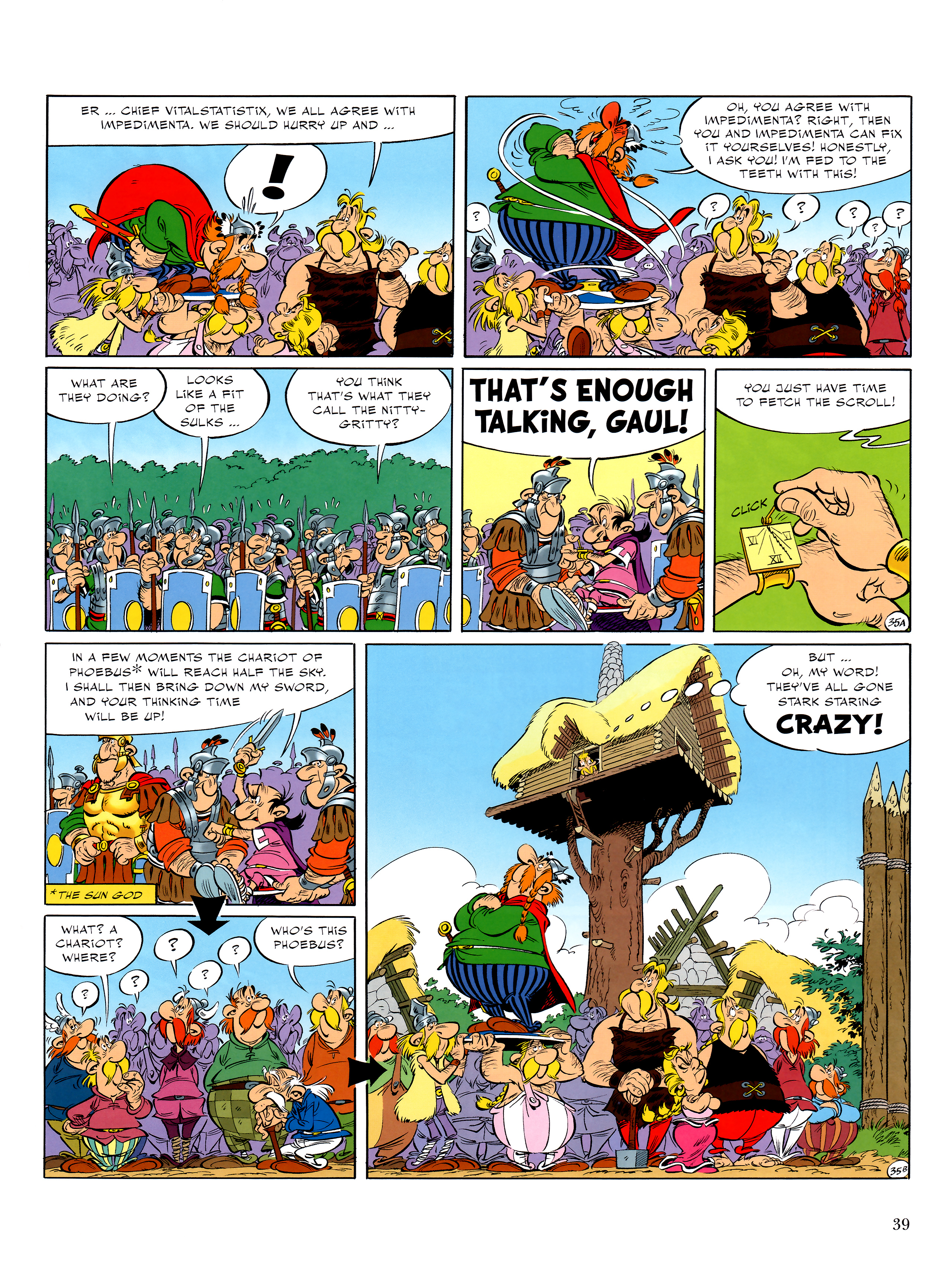 Read online Asterix comic -  Issue #36 - 40