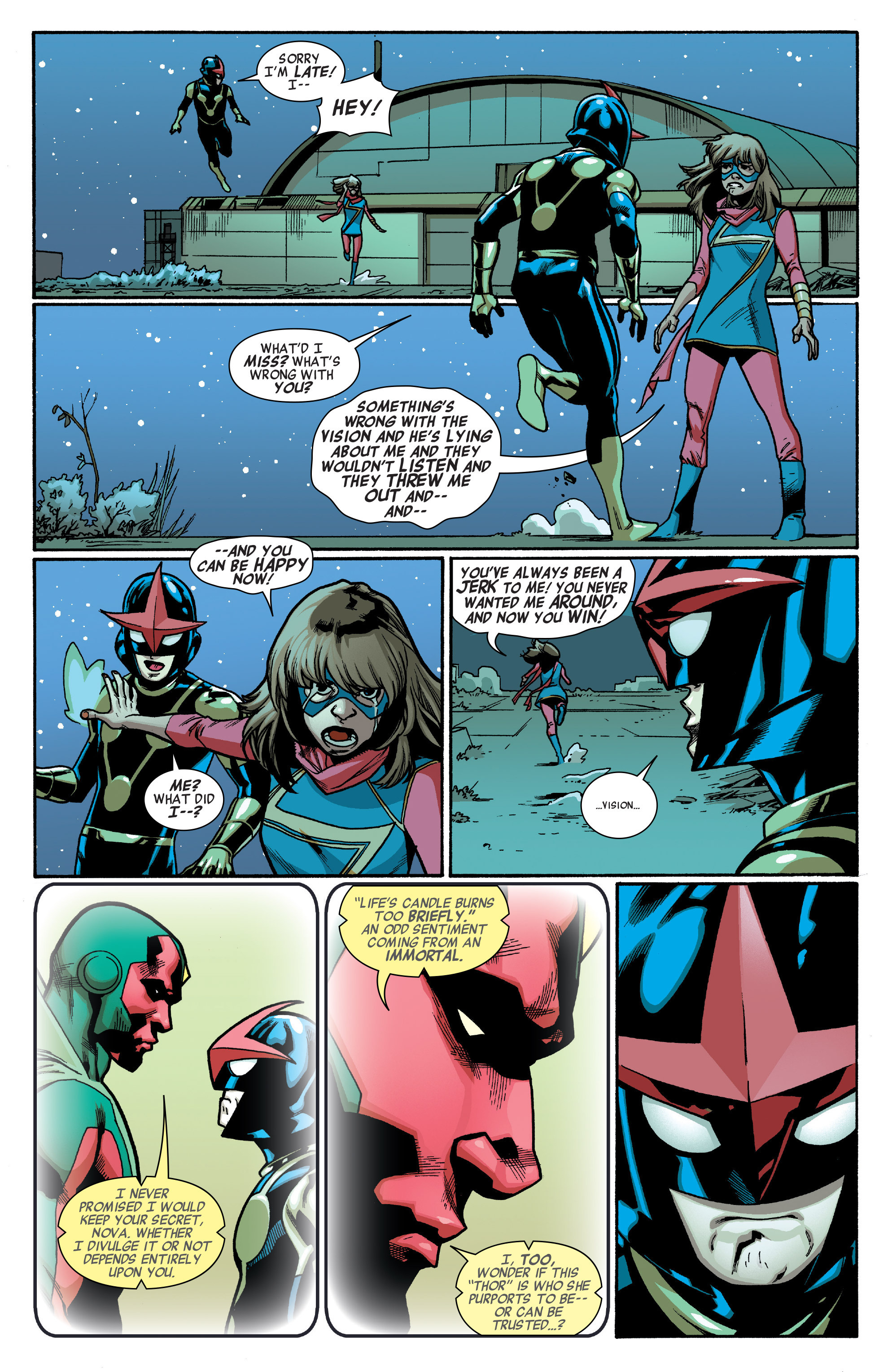 Read online All-New, All-Different Avengers comic -  Issue #5 - 12