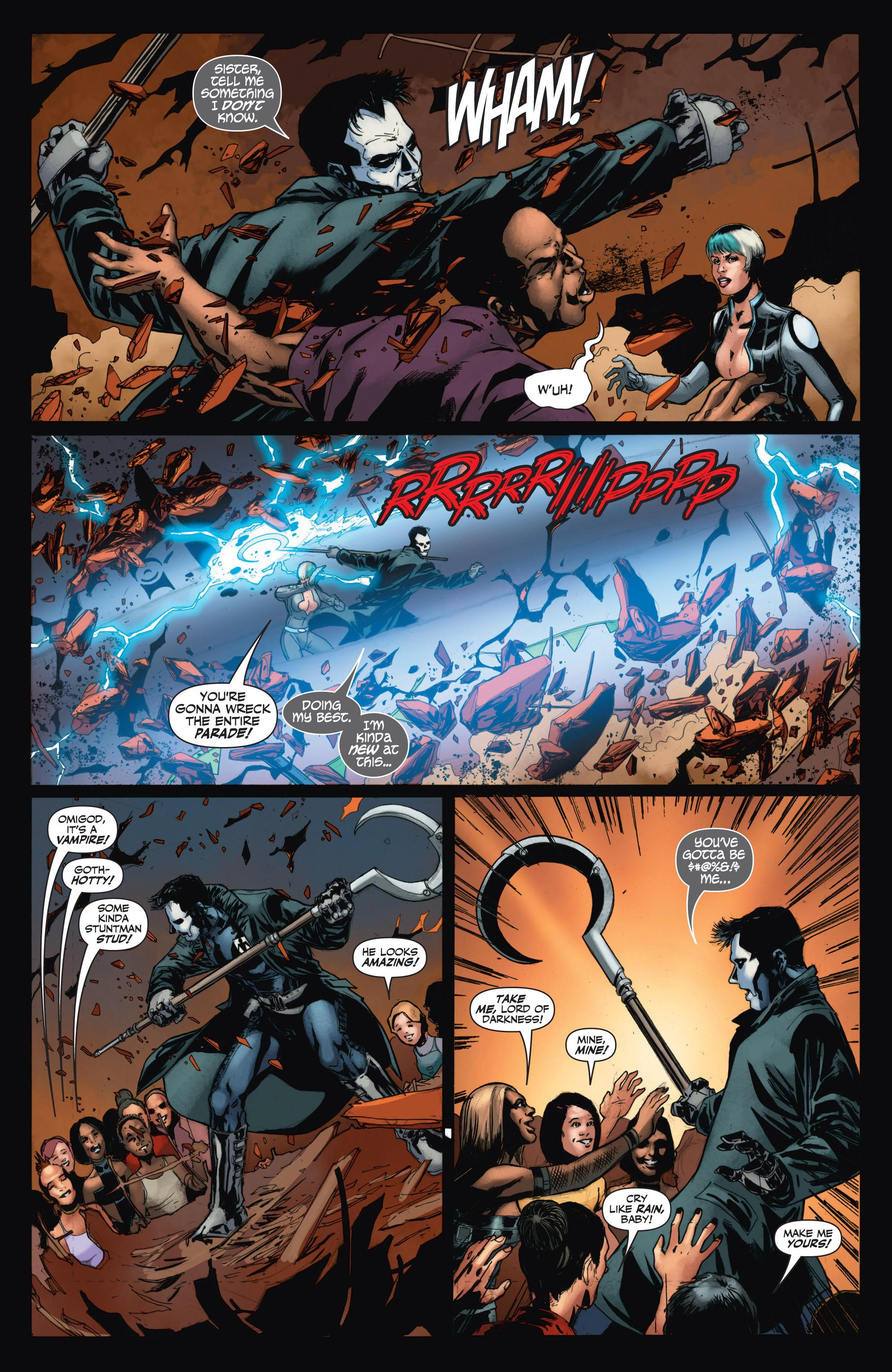 Read online Shadowman (2012) comic -  Issue #11 - 17