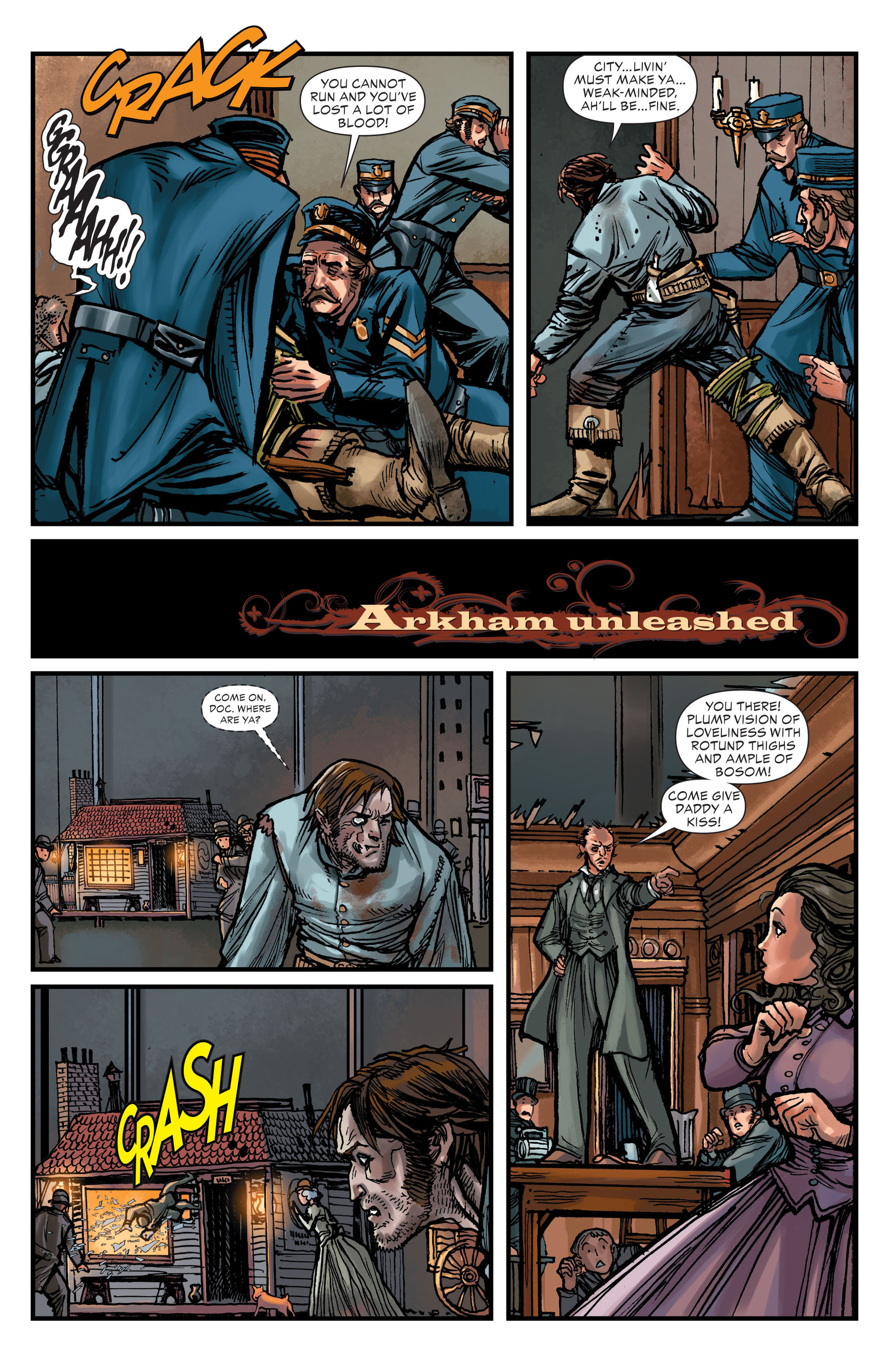 Read online All-Star Western (2011) comic -  Issue #15 - 16