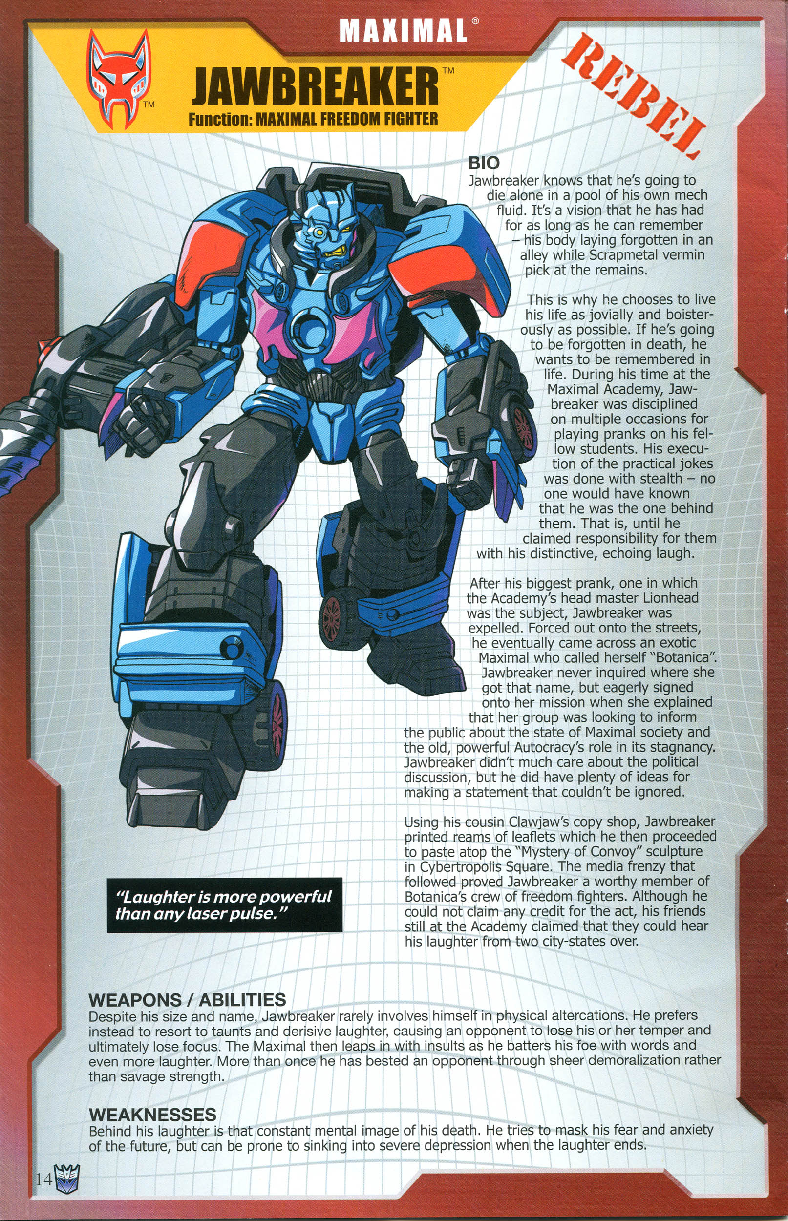 Read online Transformers: Collectors' Club comic -  Issue #57 - 14