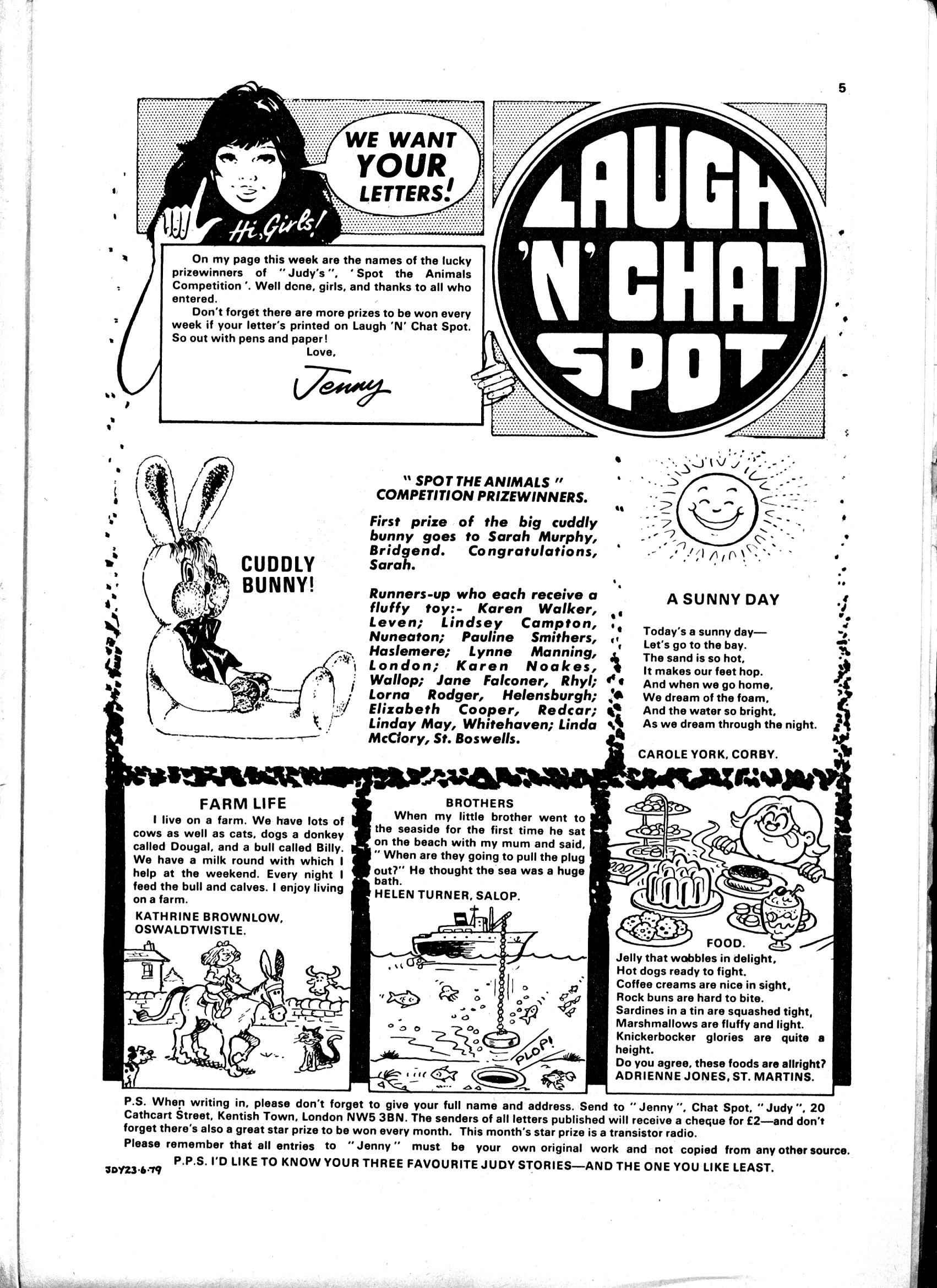 Read online Judy comic -  Issue #15 - 5