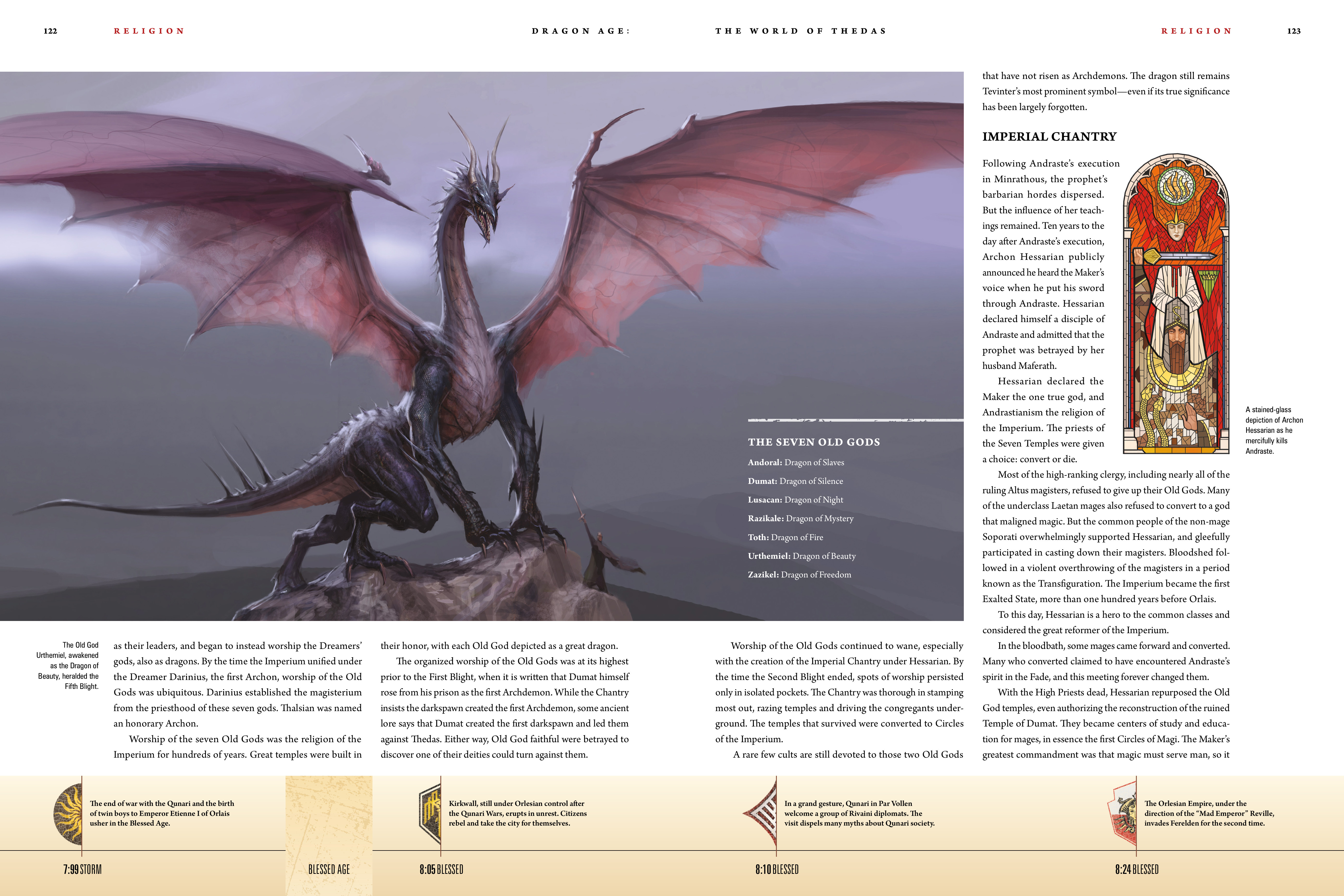 Read online Dragon Age: The World of Thedas comic -  Issue # TPB 1 - 101