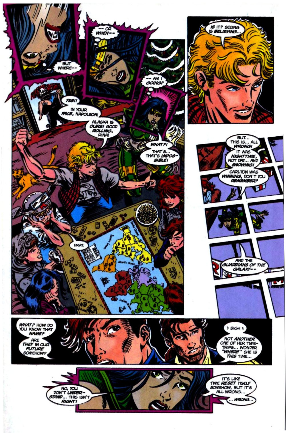 The New Warriors Issue #68 #72 - English 22
