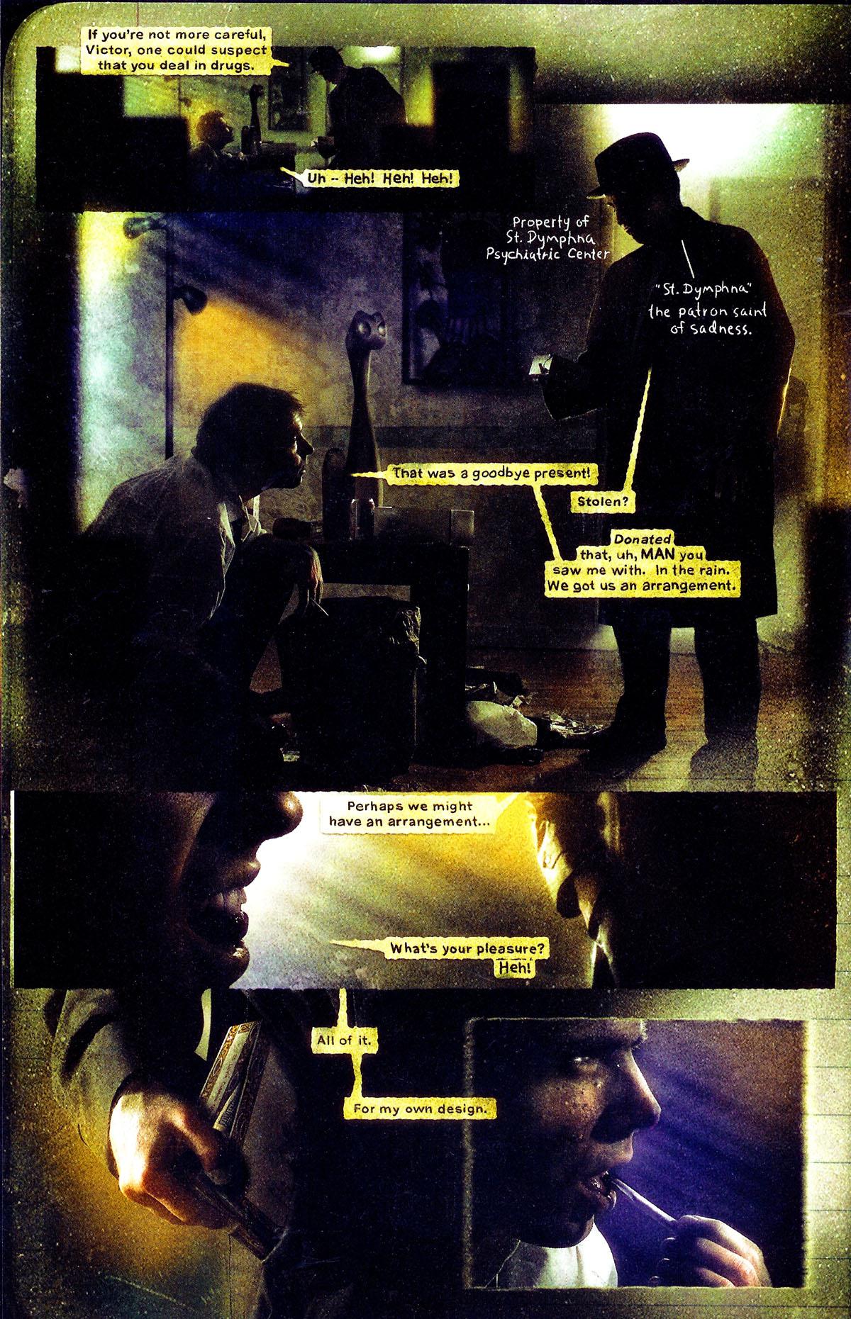 Read online Se7en comic -  Issue #3 - 17