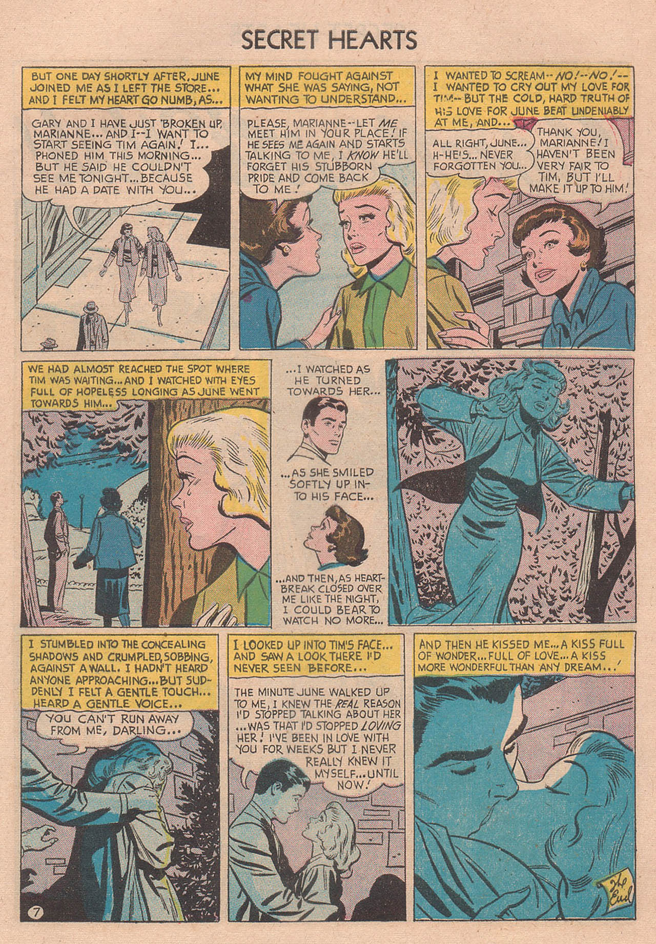 Read online Secret Hearts comic -  Issue #39 - 9