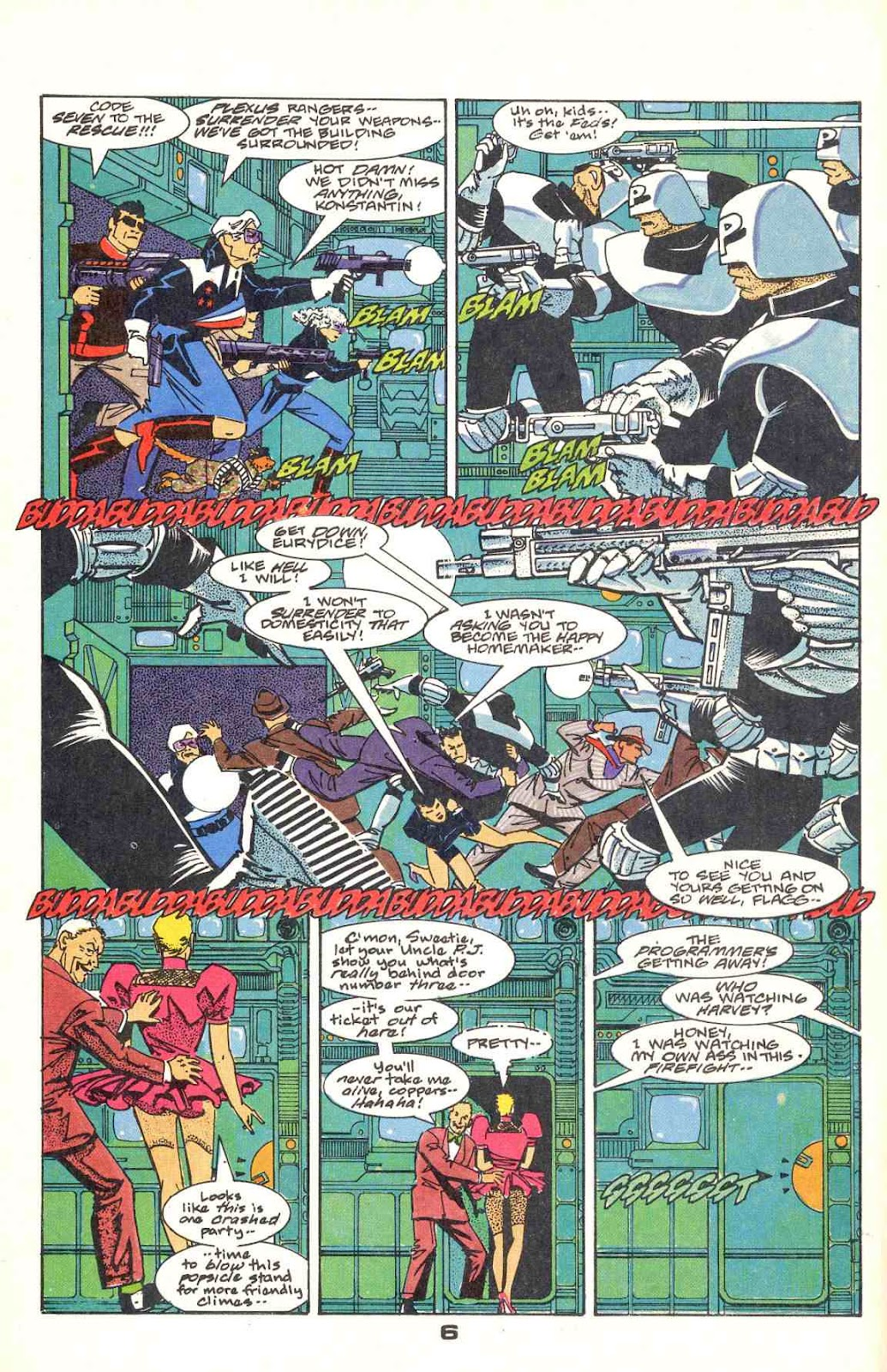 Howard Chaykin's American Flagg issue 12 - Page 8