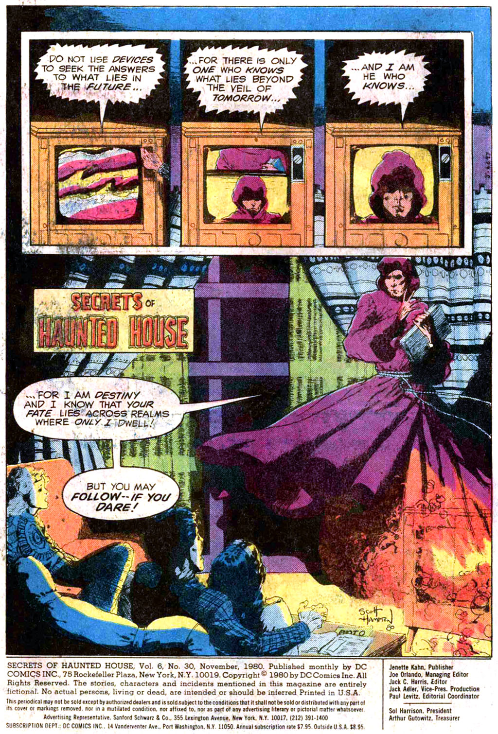 Read online Secrets of Haunted House comic -  Issue #30 - 3
