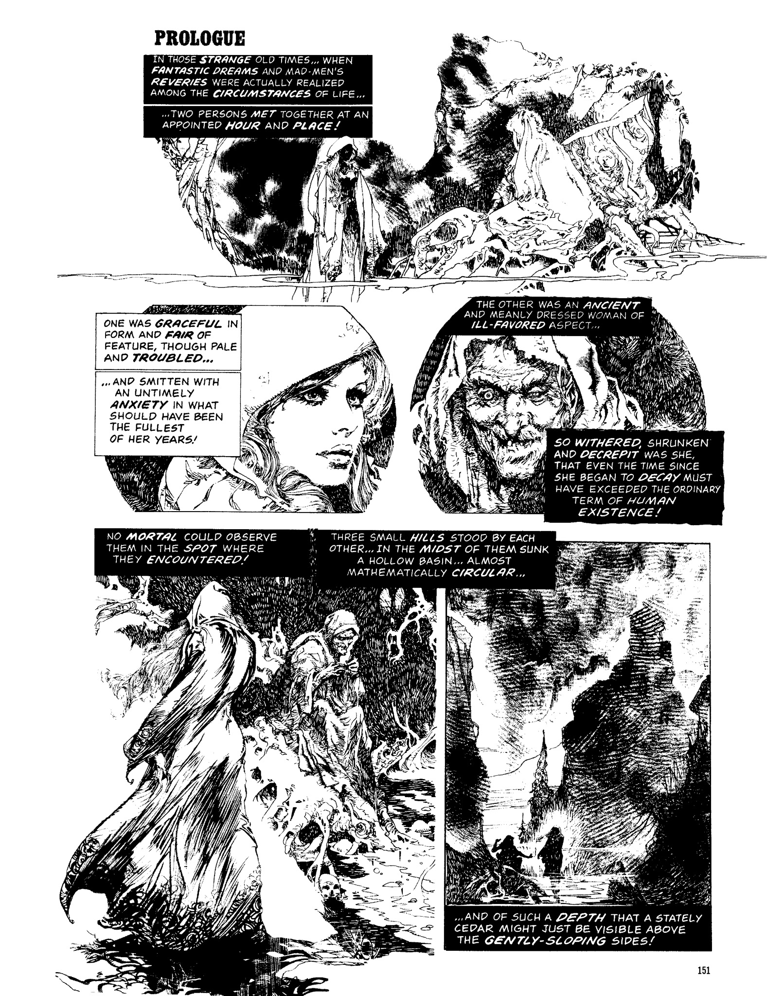 Read online Eerie Archives comic -  Issue # TPB 13 - 152