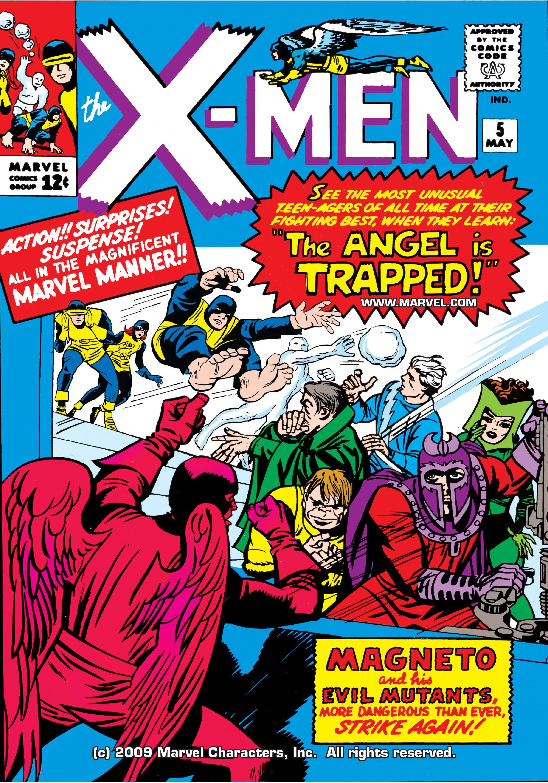 Read online Uncanny X-Men (1963) comic -  Issue #5 - 1