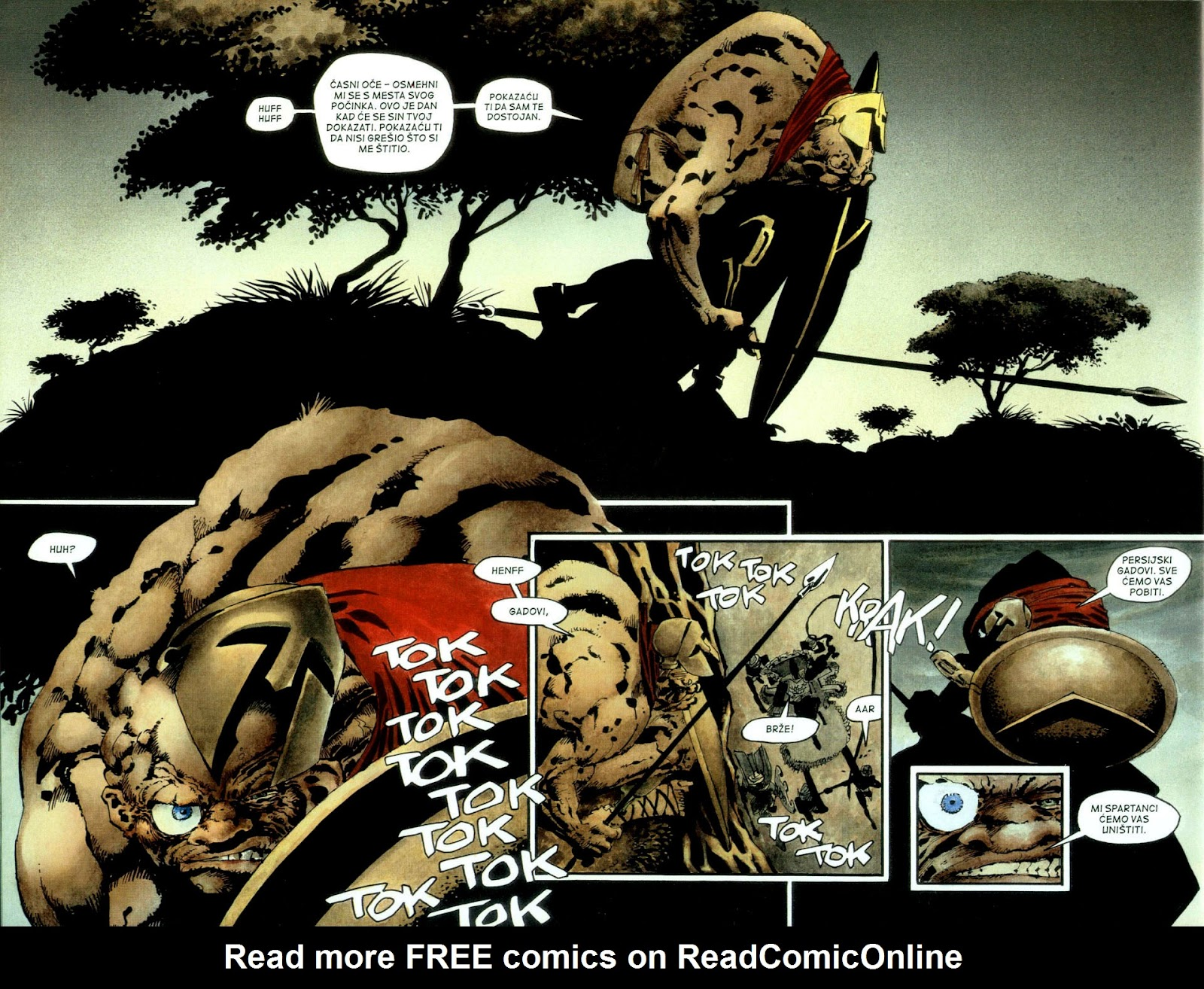 Read online 300 (2007) comic -  Issue # TPB - 35