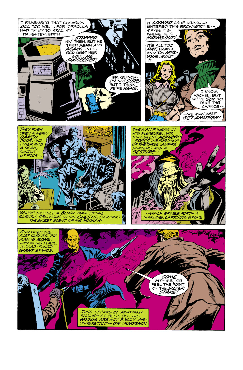 Tomb of Dracula (1972) issue 38 - Page 10