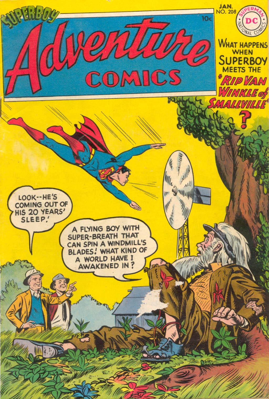 Read online Adventure Comics (1938) comic -  Issue #208 - 1