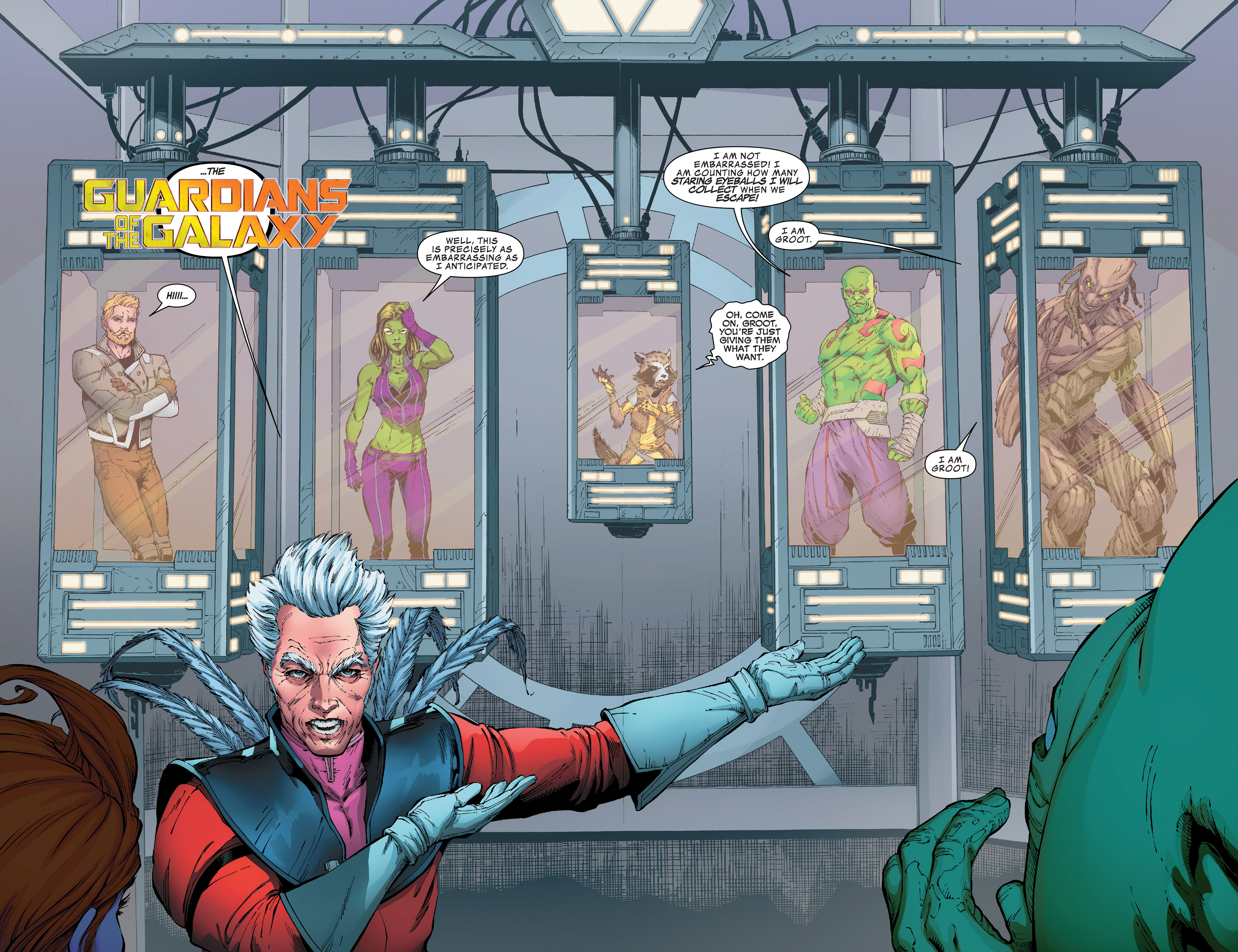Read online Guardians of the Galaxy: Mission Breakout comic -  Issue # Full - 6