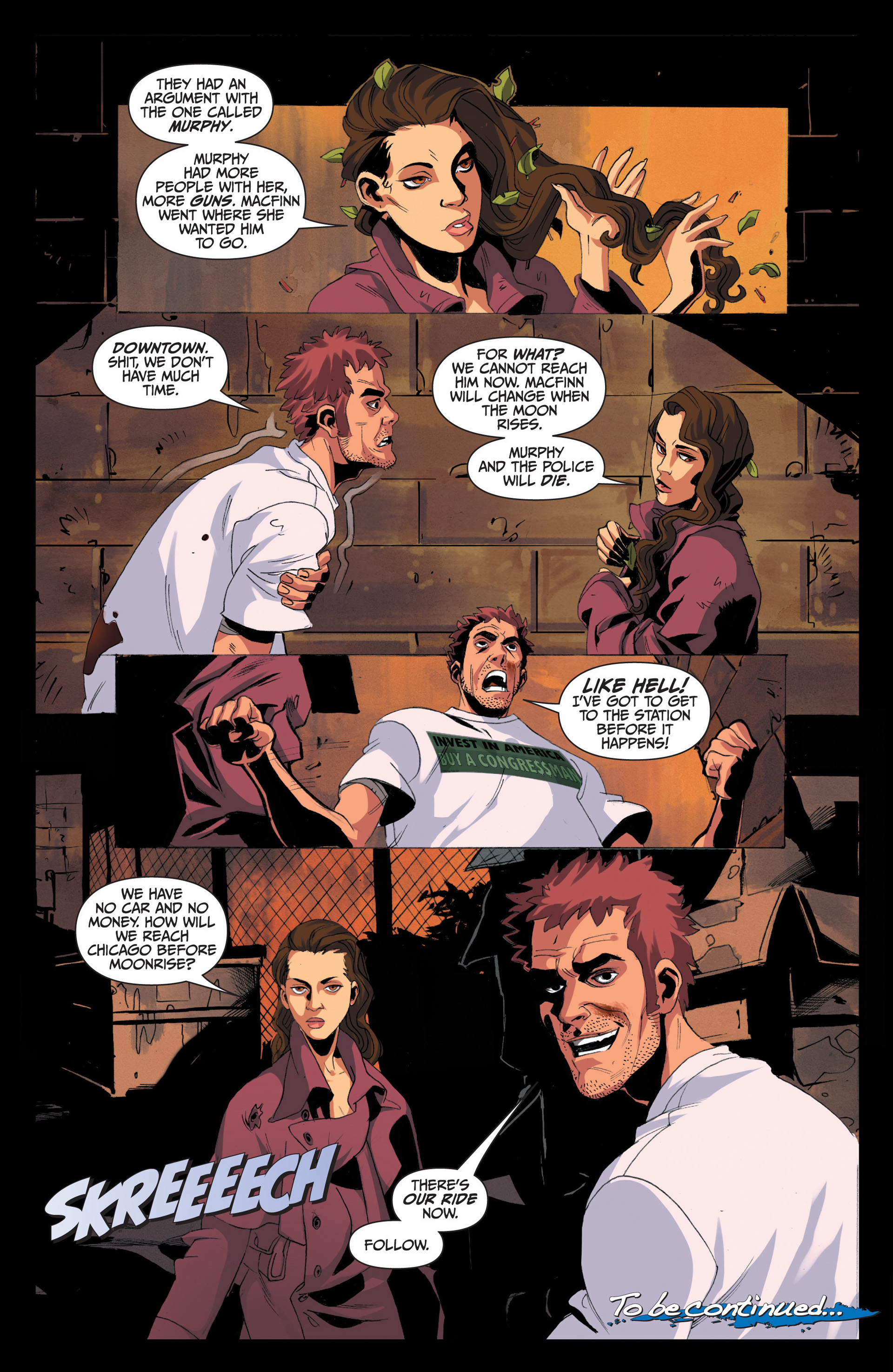 Read online Jim Butcher's The Dresden Files: Fool Moon comic -  Issue #4 - 24