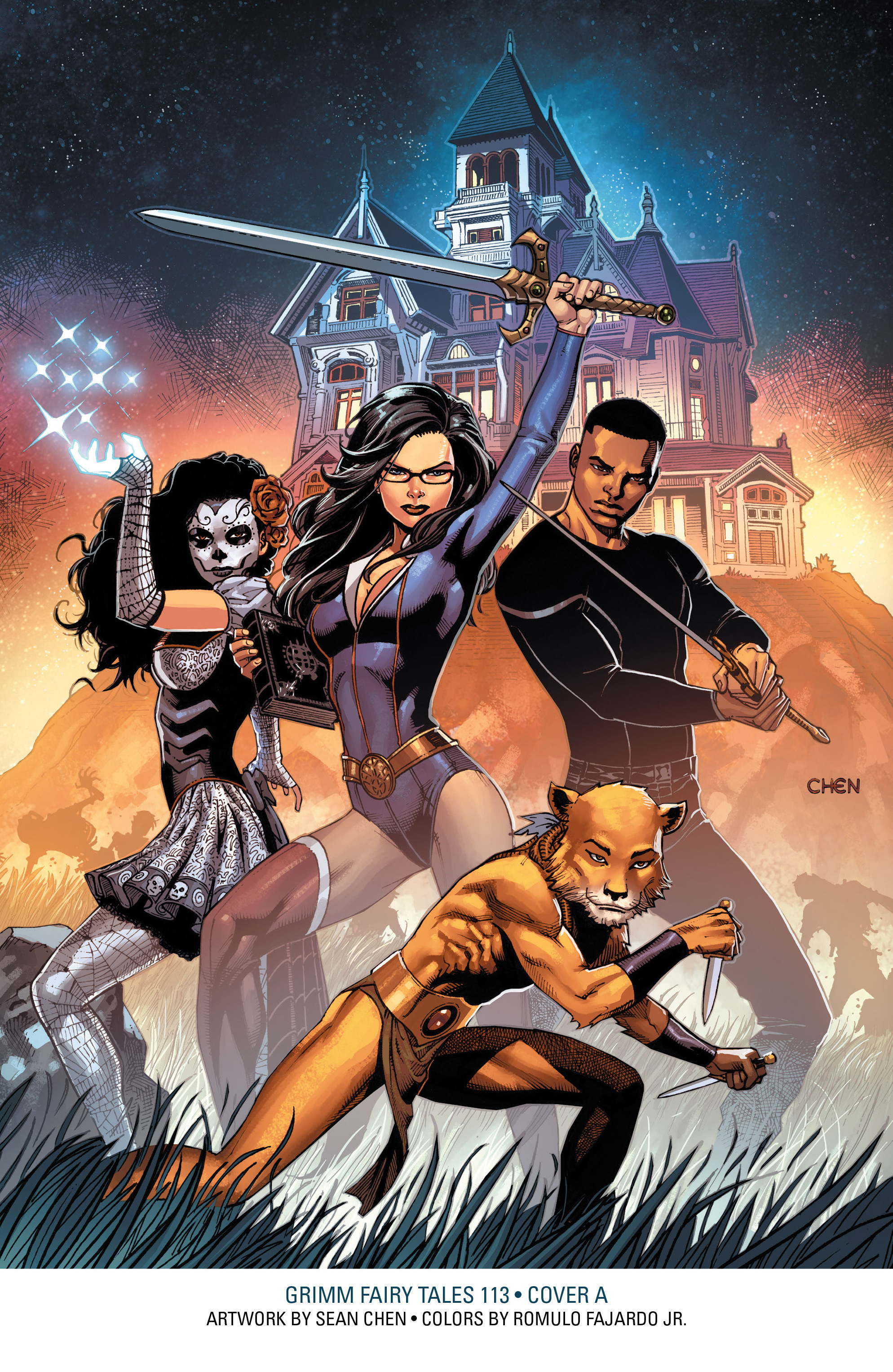 Read online Grimm Fairy Tales: Arcane Acre comic -  Issue # TPB 3 - 143