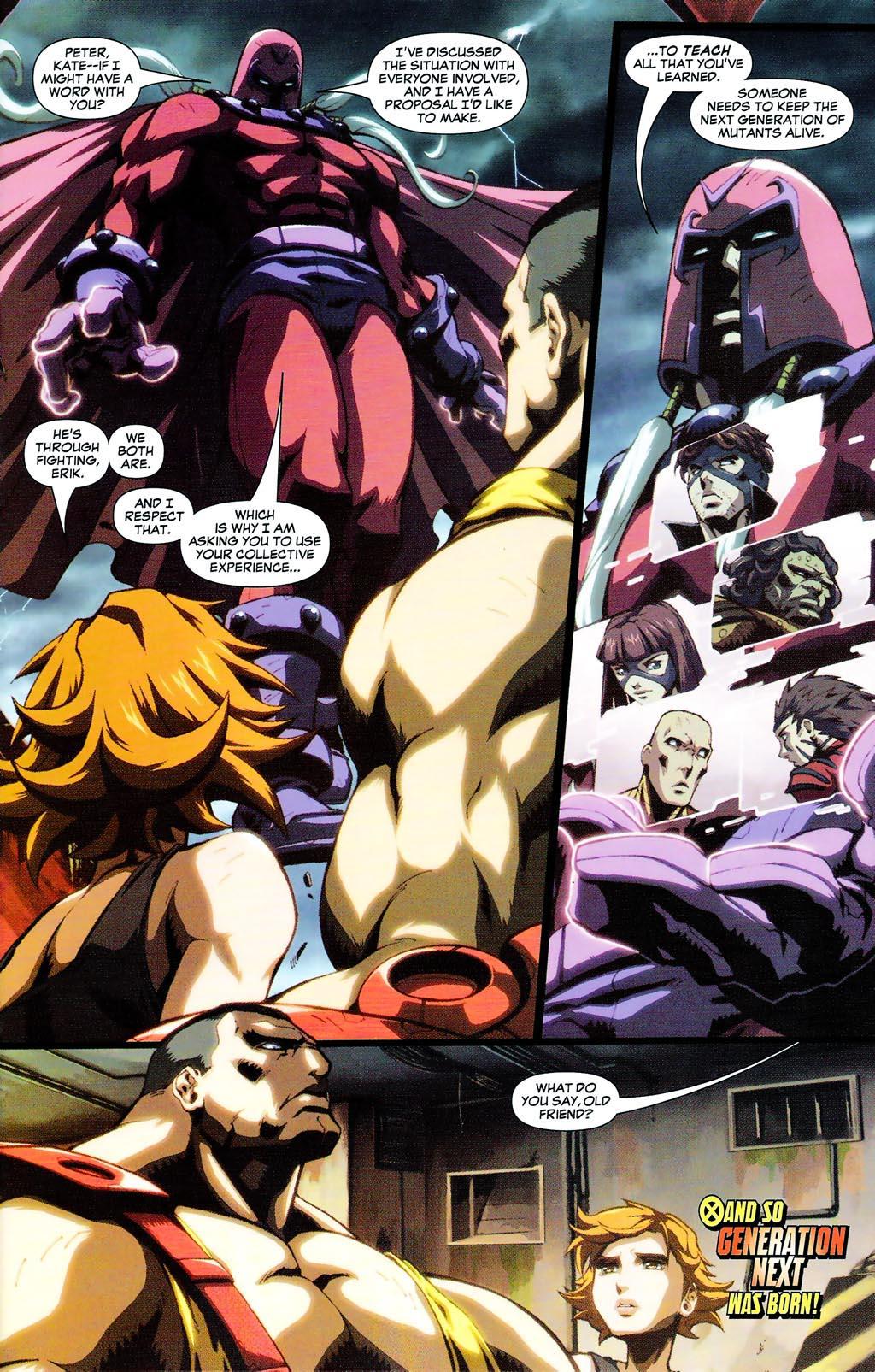 Read online Age of Apocalypse (2005) comic -  Issue #0 - 8