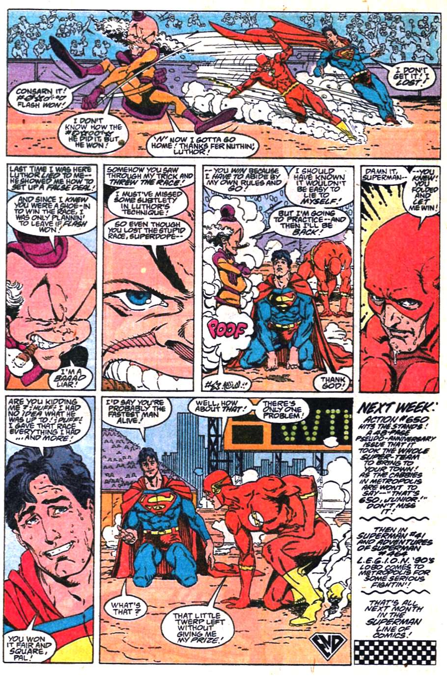 Read online Adventures of Superman (1987) comic -  Issue #463 - 22