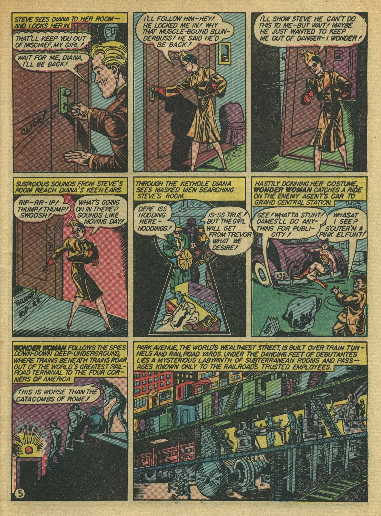 Read online Sensation (Mystery) Comics comic -  Issue #10 - 7