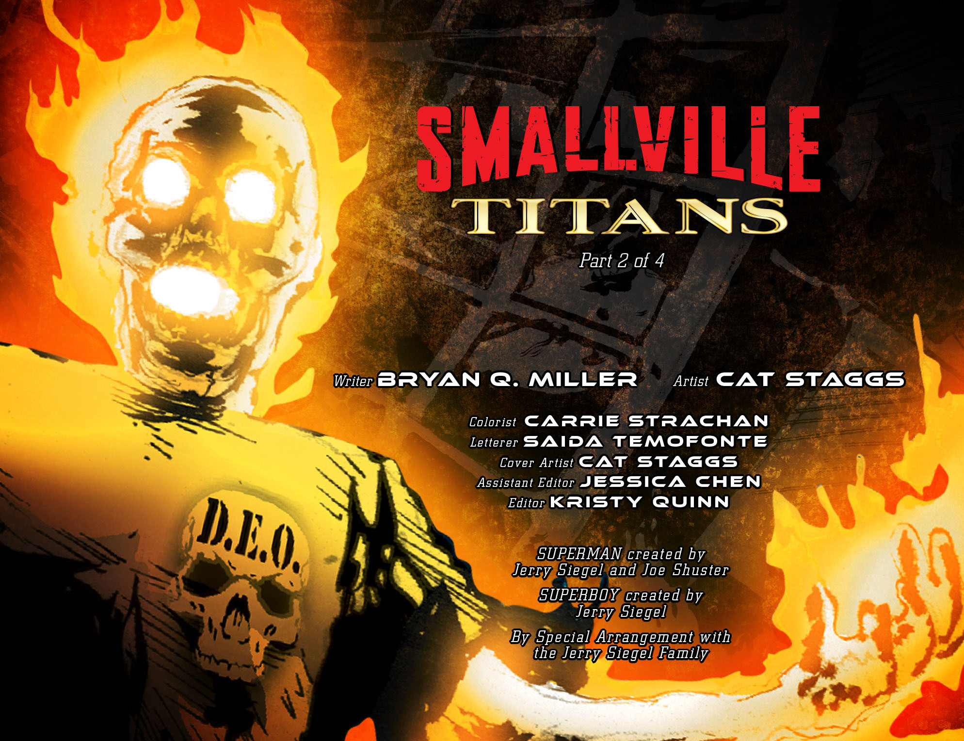 Read online Smallville: Titans comic -  Issue #2 - 2