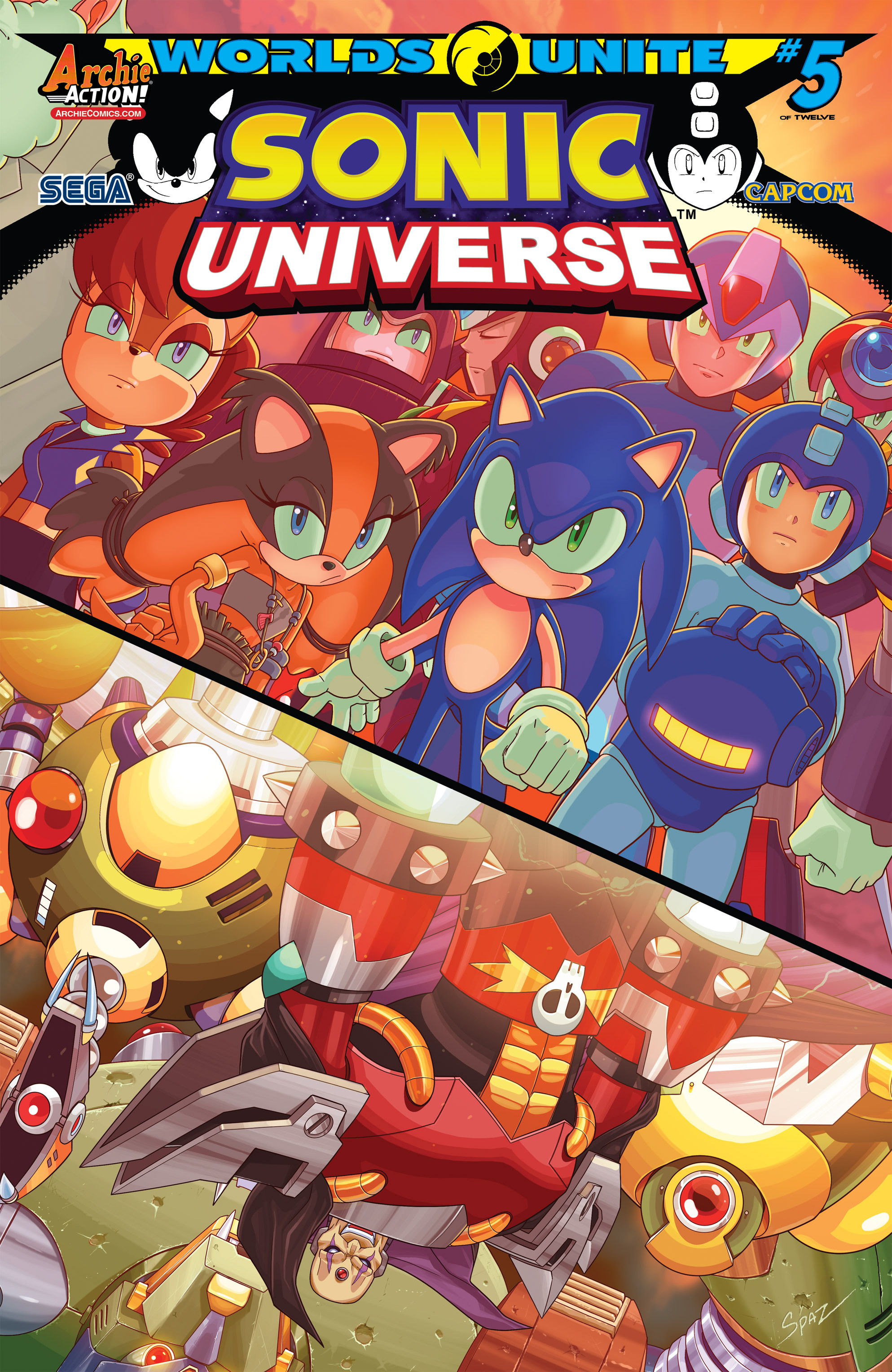 Sonic Universe 77 Page 1