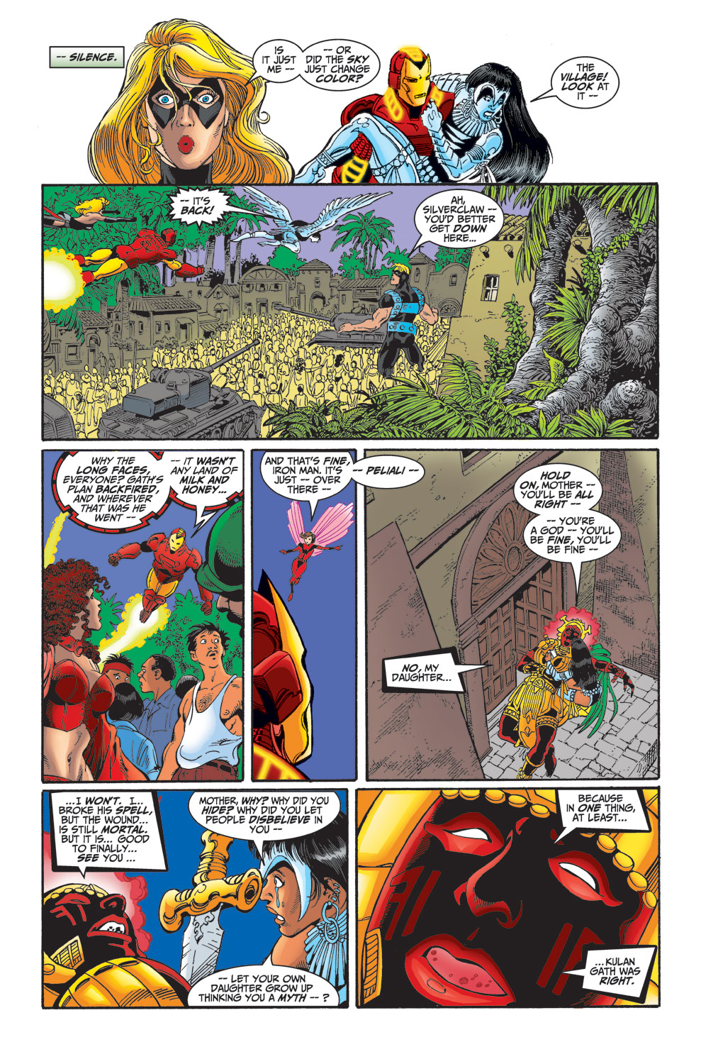 Read online Avengers (1998) comic -  Issue #30 - 21