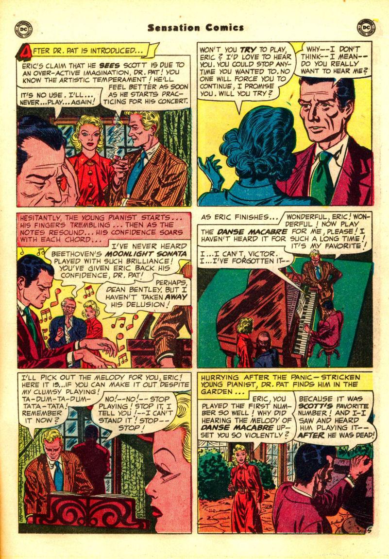 Read online Sensation (Mystery) Comics comic -  Issue #99 - 21