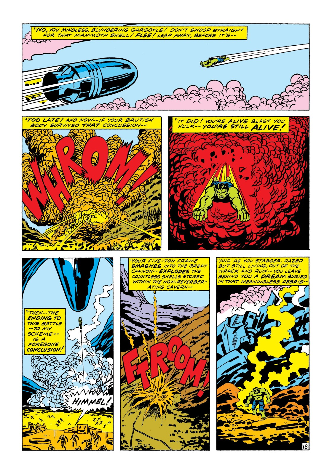 Read online Marvel Masterworks: The Incredible Hulk comic -  Issue # TPB 7 (Part 1) - 24