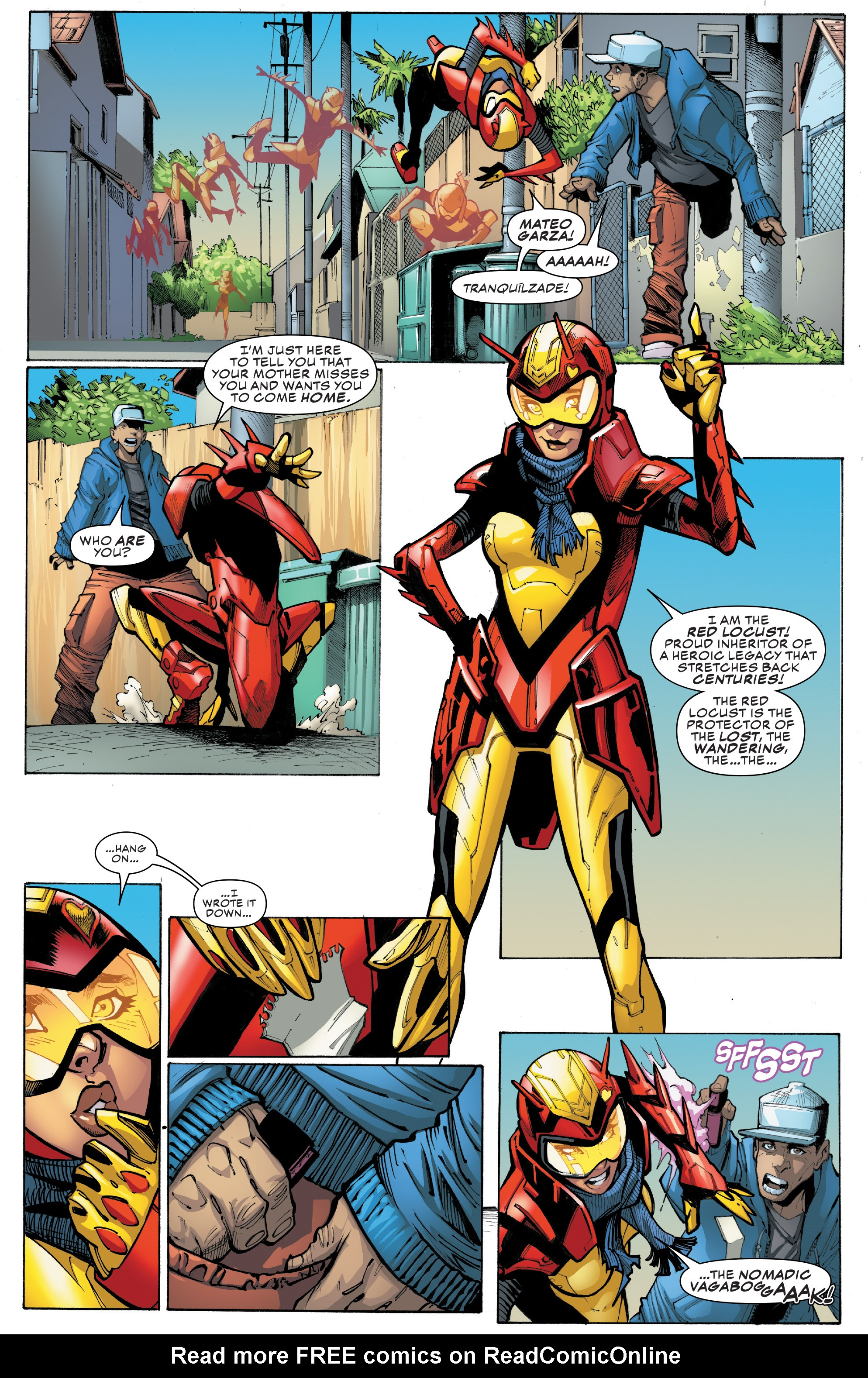 Read online Champions (2016) comic -  Issue #9 - 10