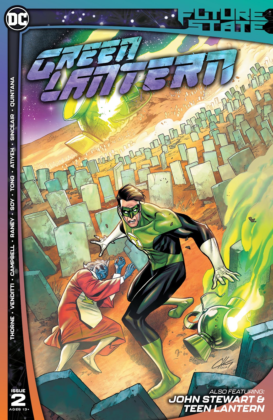 Future State: Green Lantern 2 Page 1
