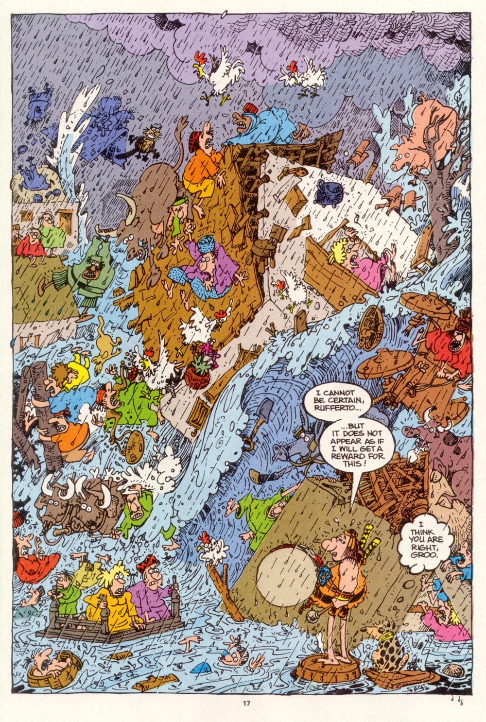 Read online Sergio Aragonés Groo the Wanderer comic -  Issue #113 - 19
