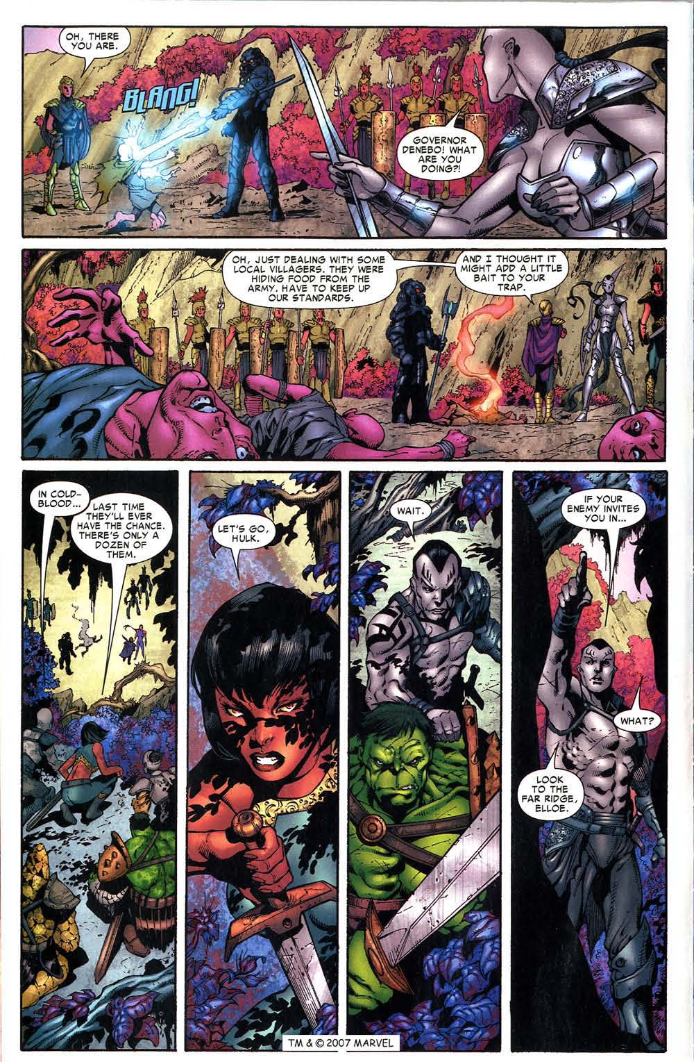 Read online The Incredible Hulk (2000) comic -  Issue #96 - 10