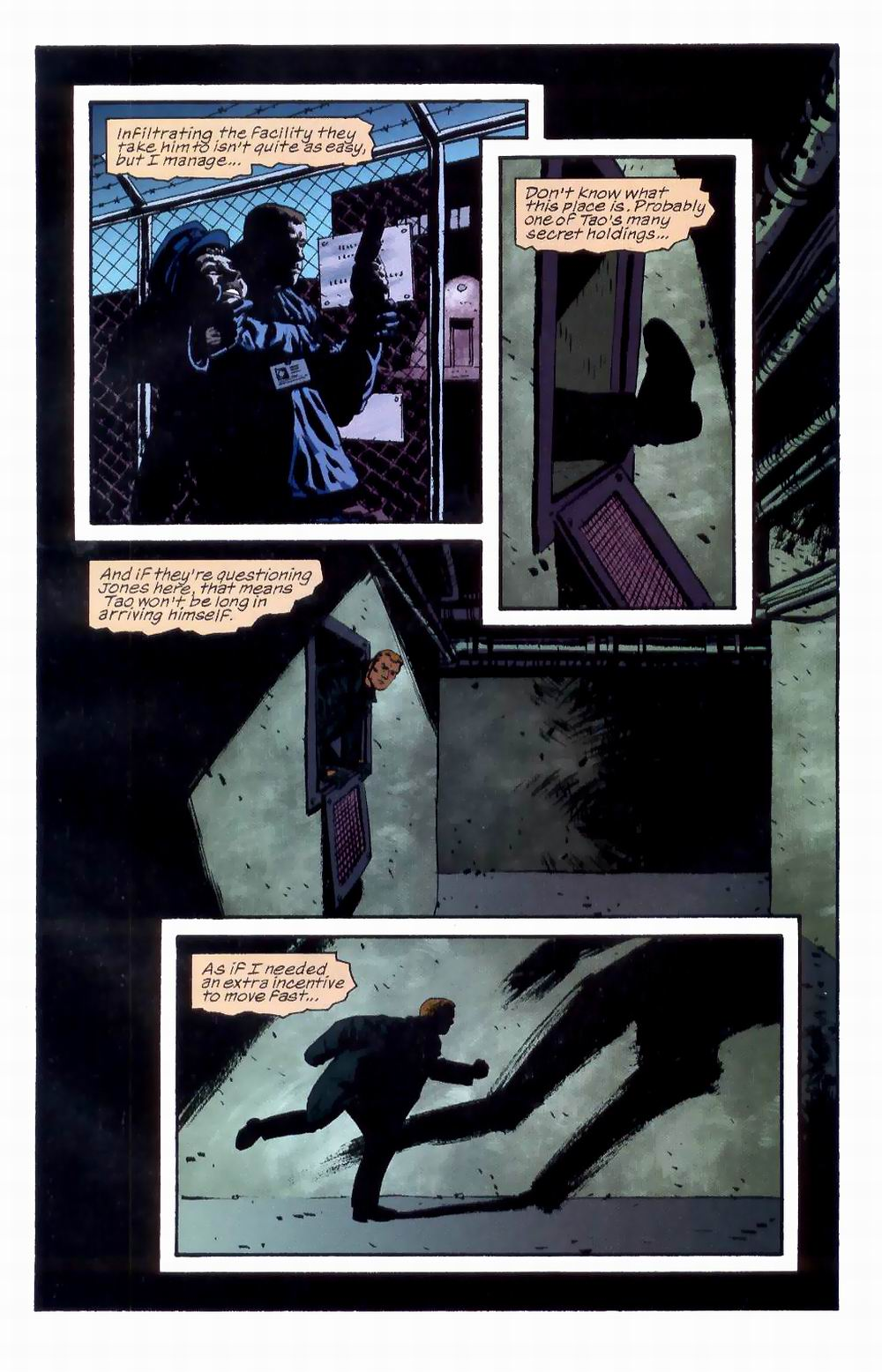 Read online Sleeper comic -  Issue #8 - 17