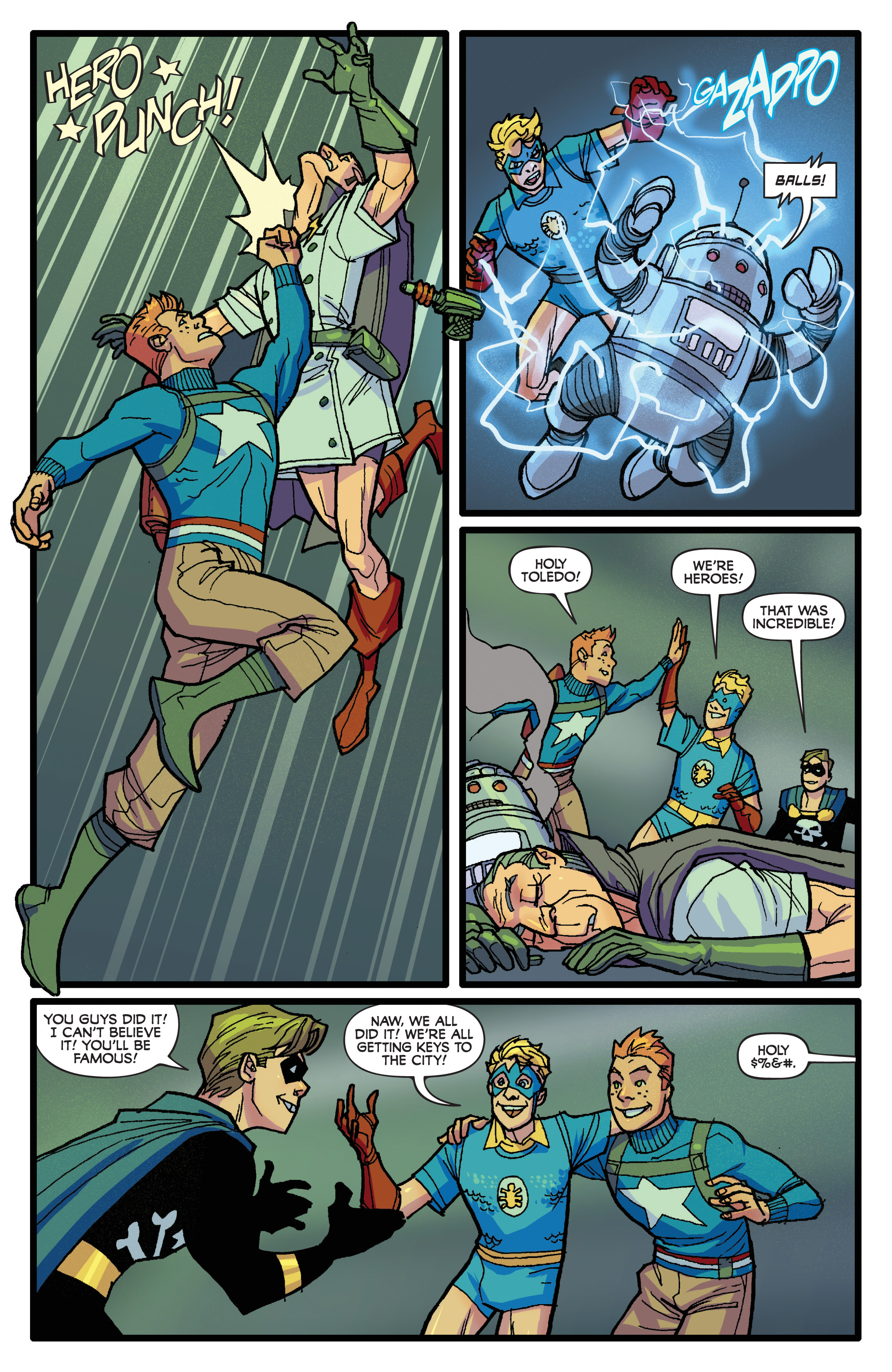 Read online Project Superpowers: Hero Killers comic -  Issue #1 - 19